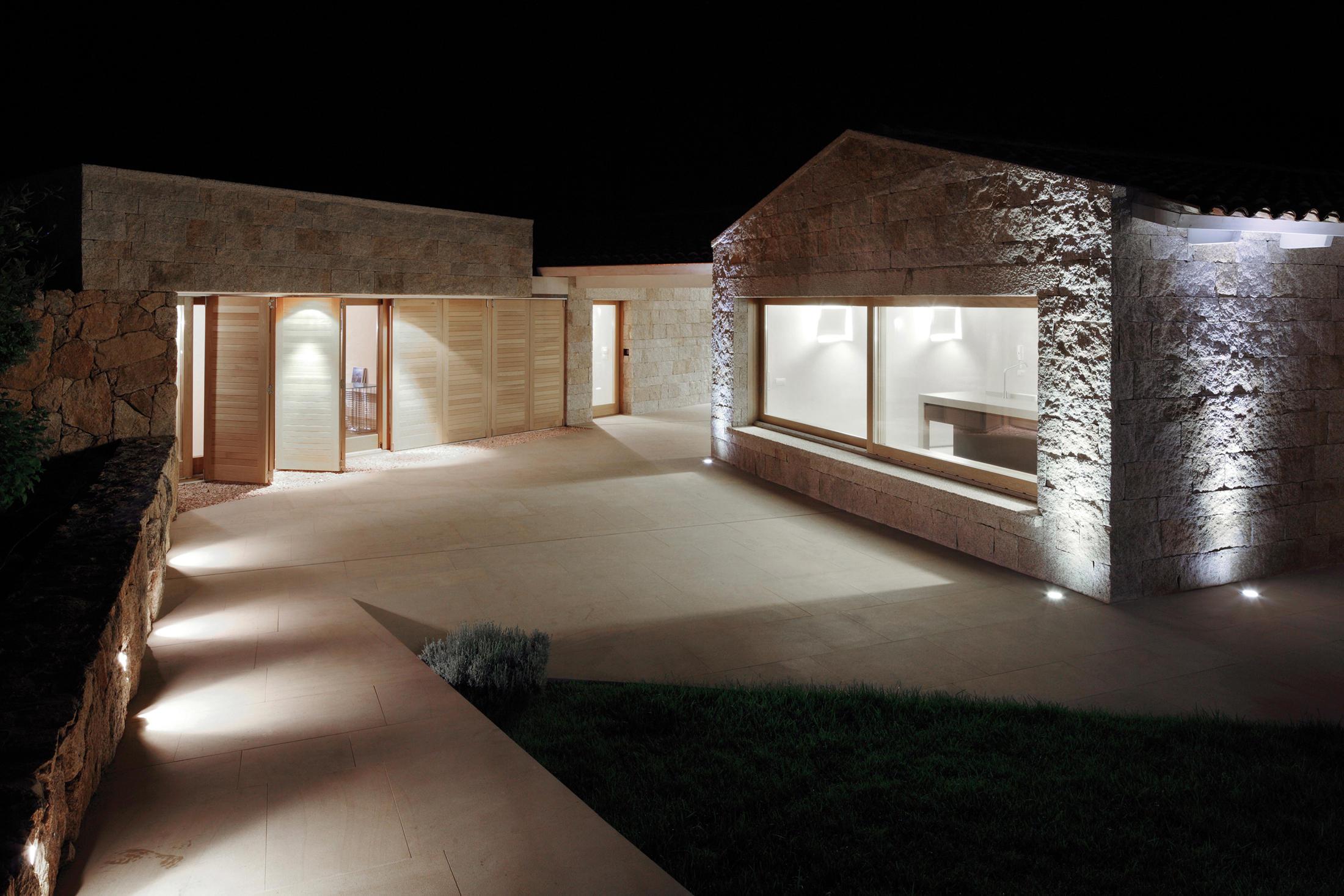 Micro led lampade outdoor incasso pavimento platek light