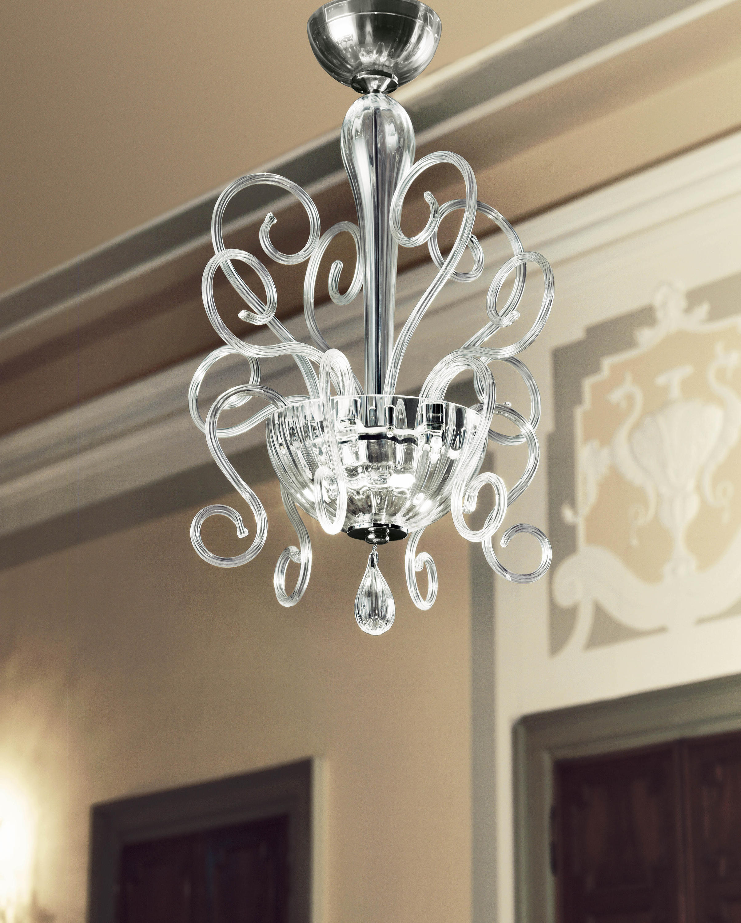 Bolero l6 ceiling suspended chandeliers from leucos usa architonic bolero l6 by leucos usa arubaitofo Image collections