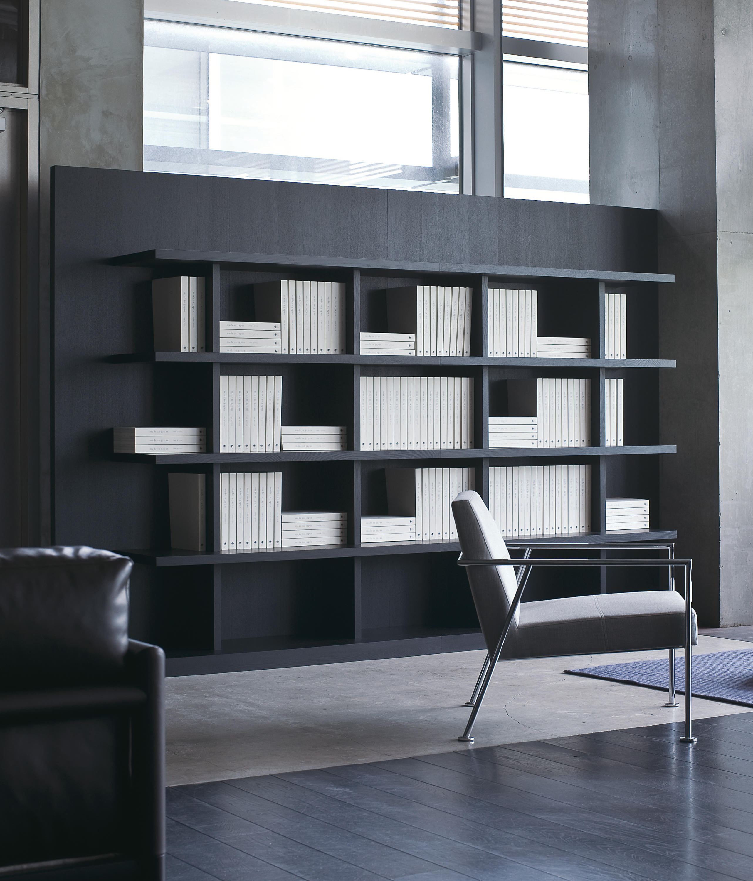 Book wall shelf low set variation office shelving systems from book wall shelf low set variation by time style amipublicfo Image collections