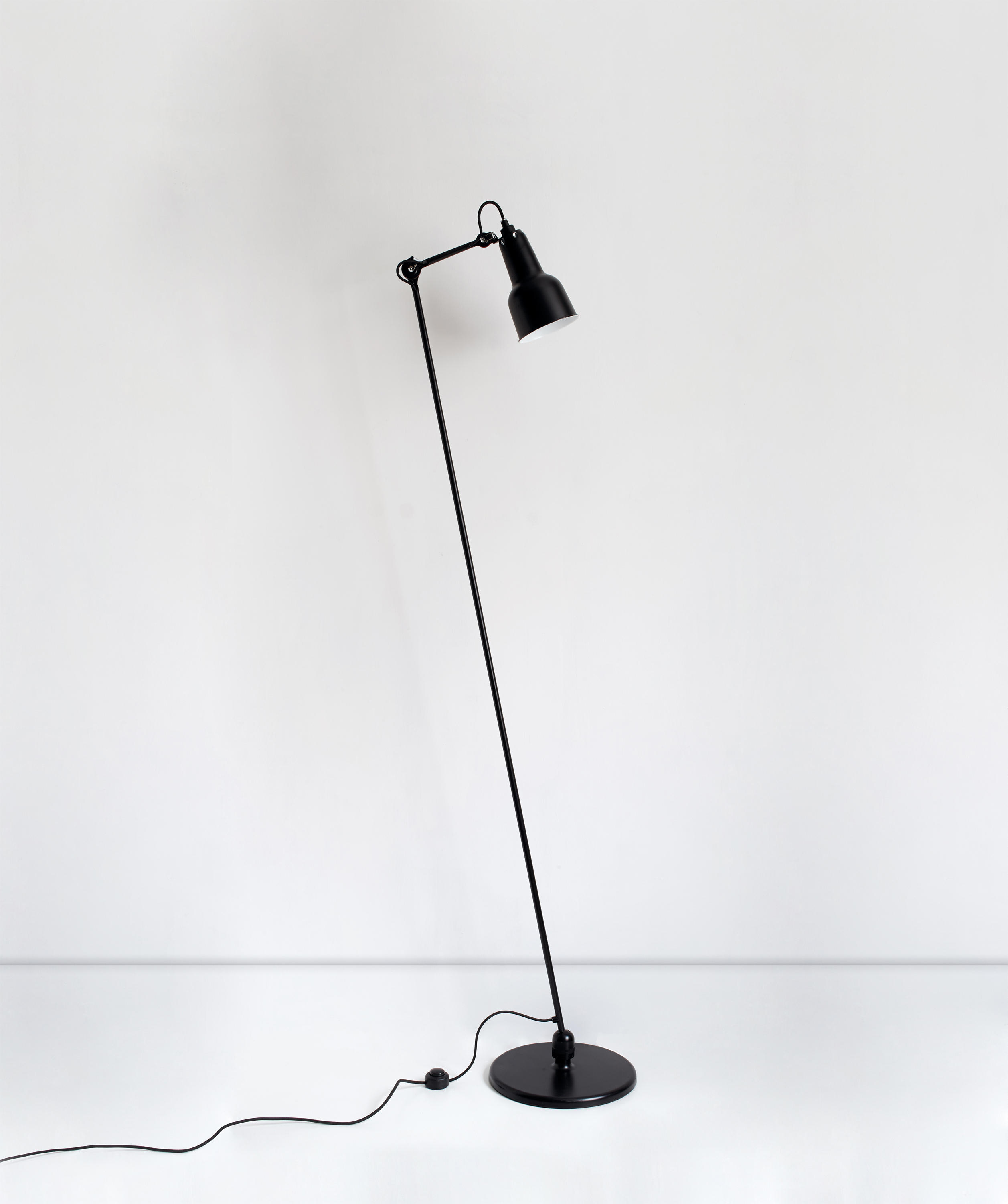 Lampe Gras N 230 Black Free Standing Lights From Dcw Editions