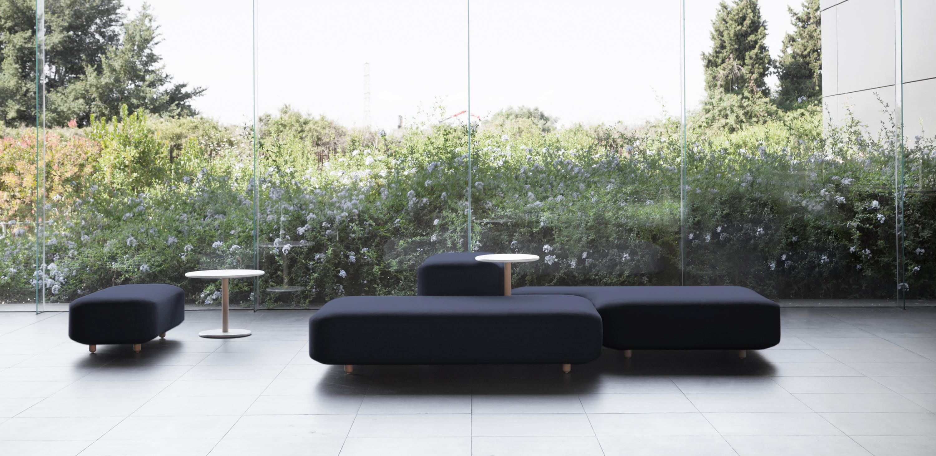 COMMON SOFAS   BENCHES - Modular seating elements from viccarbe ...
