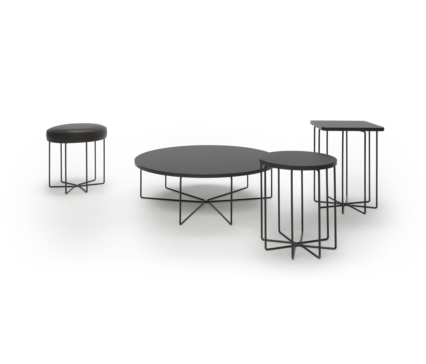 GINGER Ottomans from Loop & Co