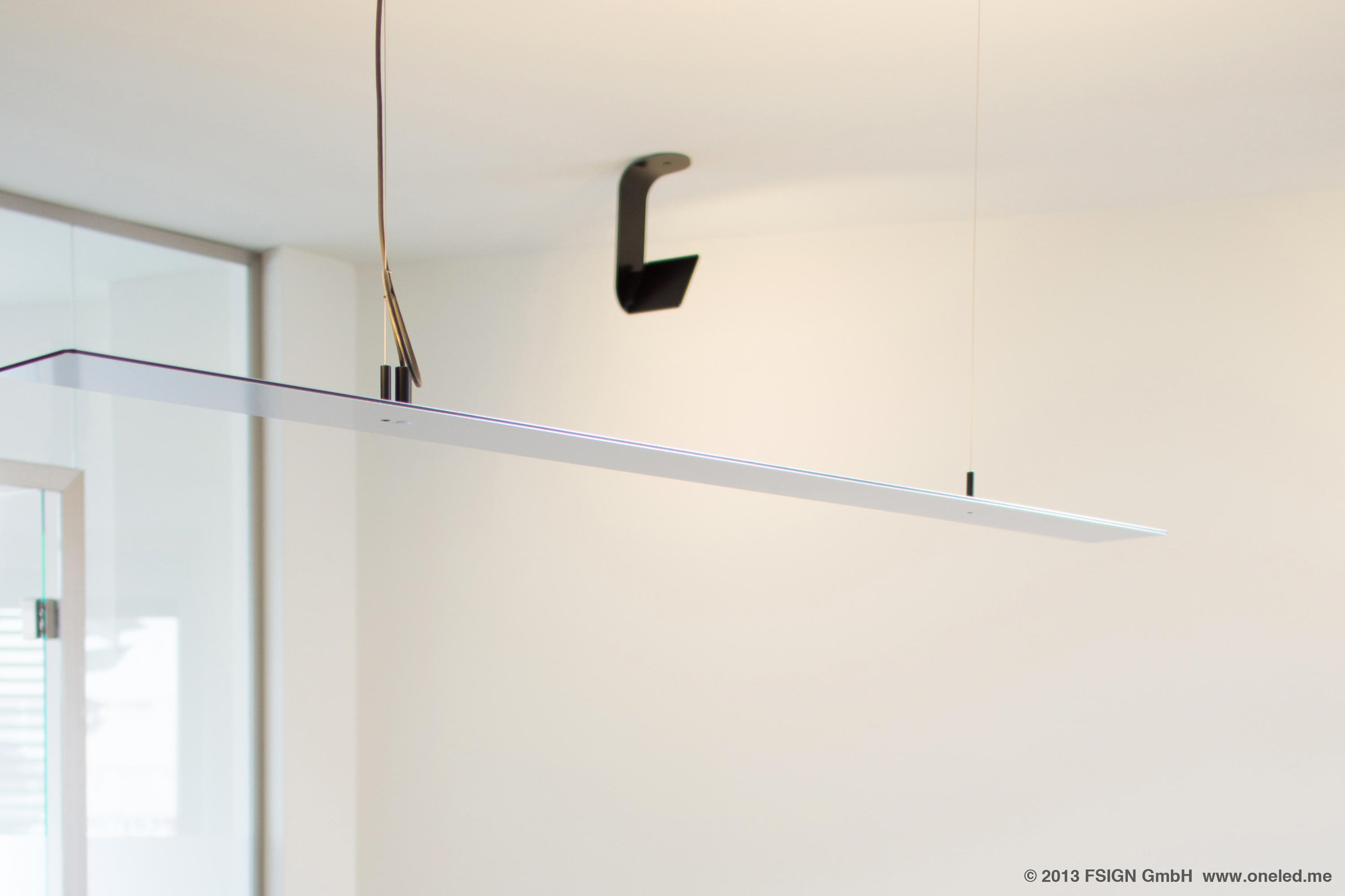 oneled suspended luminaire general lighting from oneled architonic. Black Bedroom Furniture Sets. Home Design Ideas