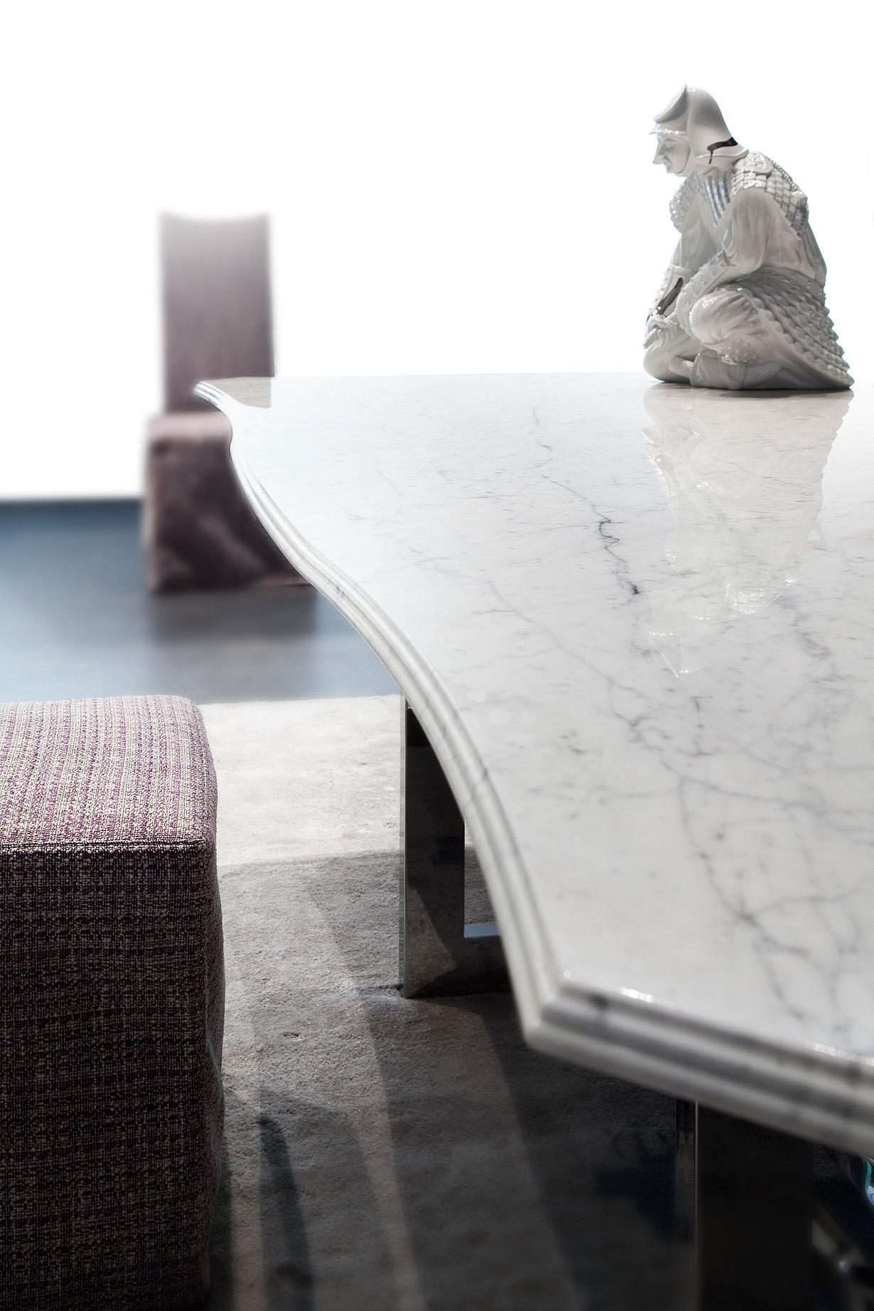 Rock Coco Dining Tables By Erba Italia Architonic #4C5D6D 1229 1843 Sala Da Pranzo Shabby Ikea