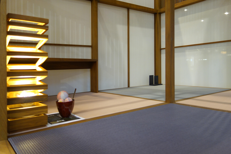 Japanese tea house interior -  Japanese Tea House By Deesawat