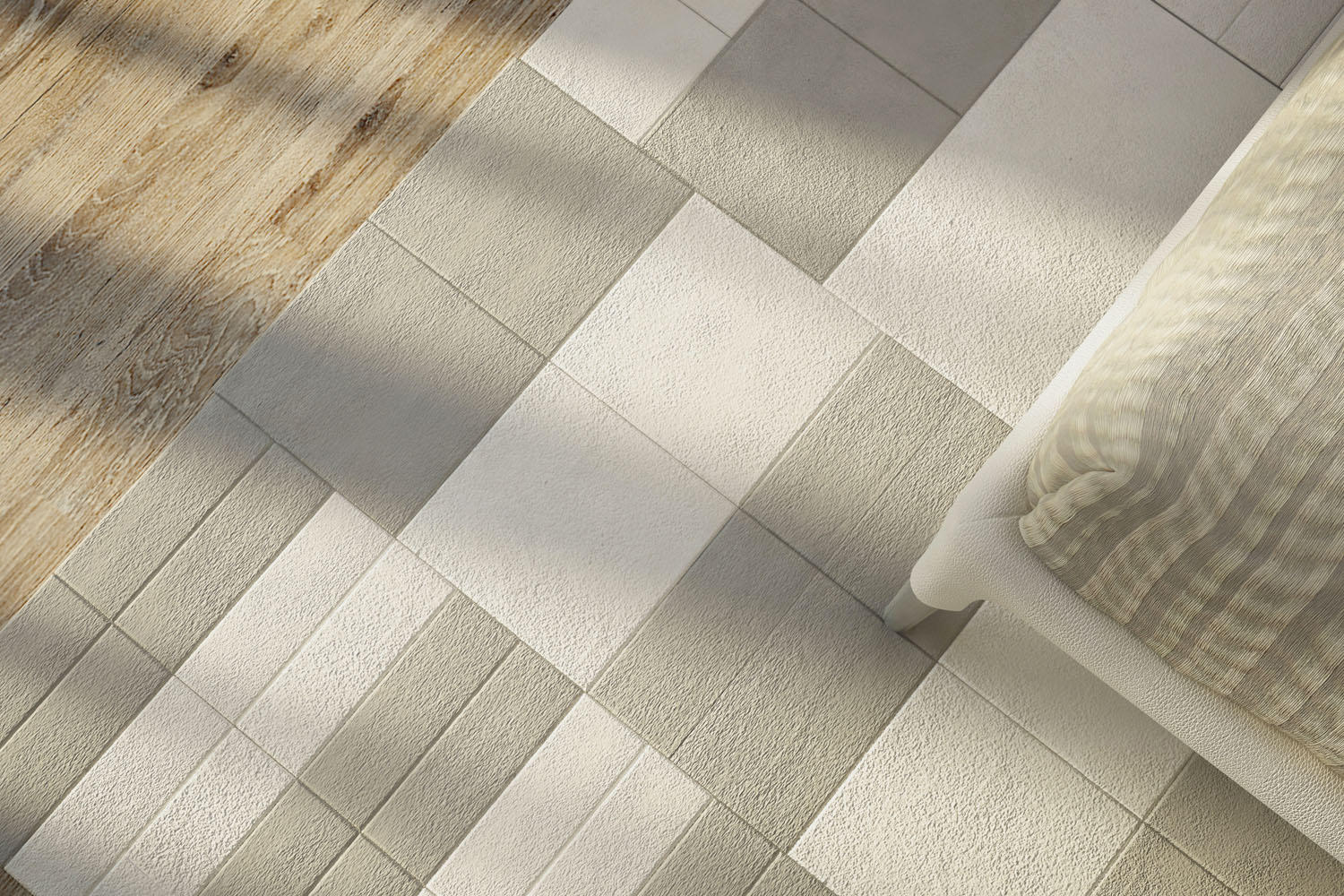 Suede leather tiles from laplle design architonic suede by laplle design suede by laplle design dailygadgetfo Gallery