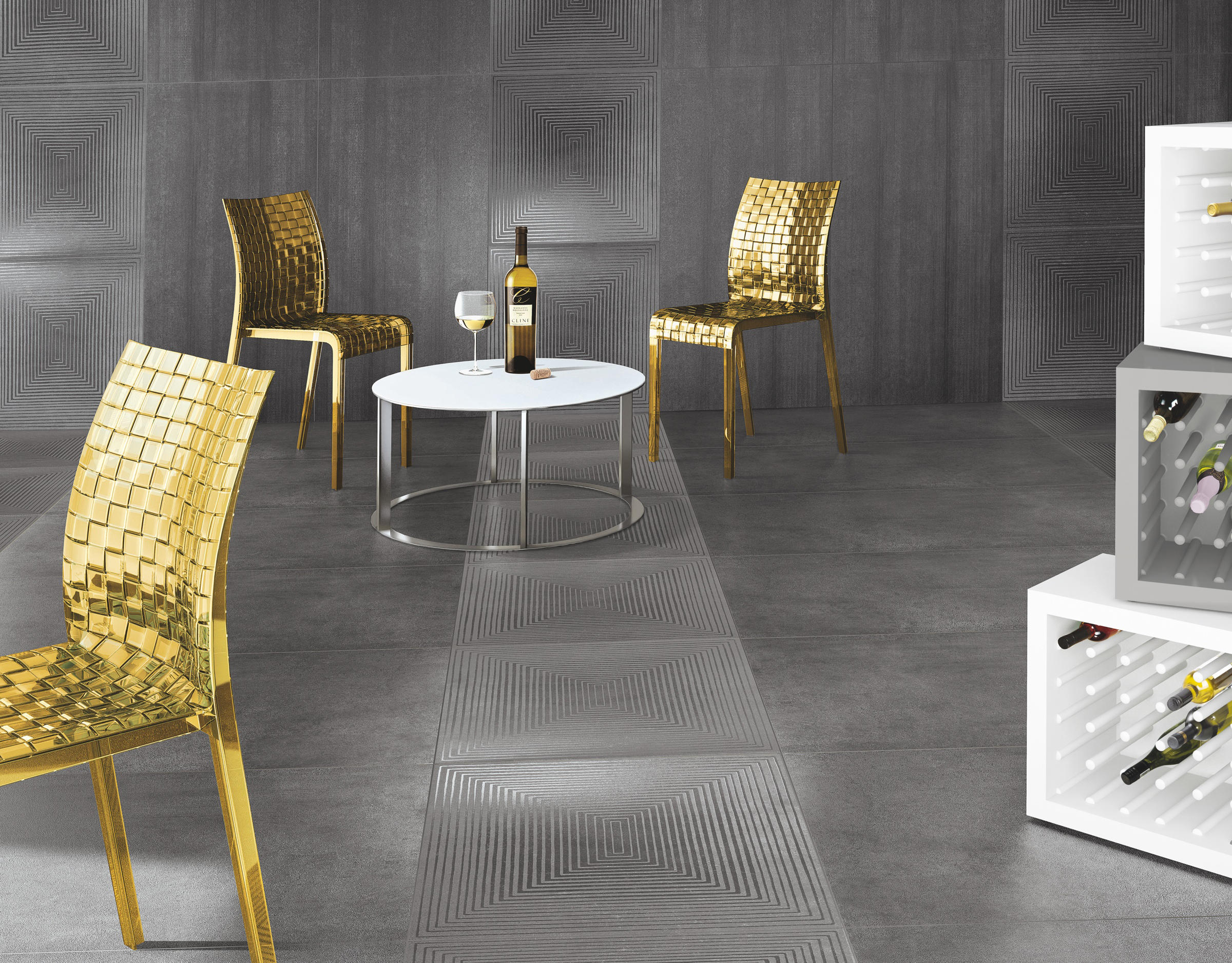 Cemento cassero antracite tiles from casalgrande padana for Carrelage casalgrande padana