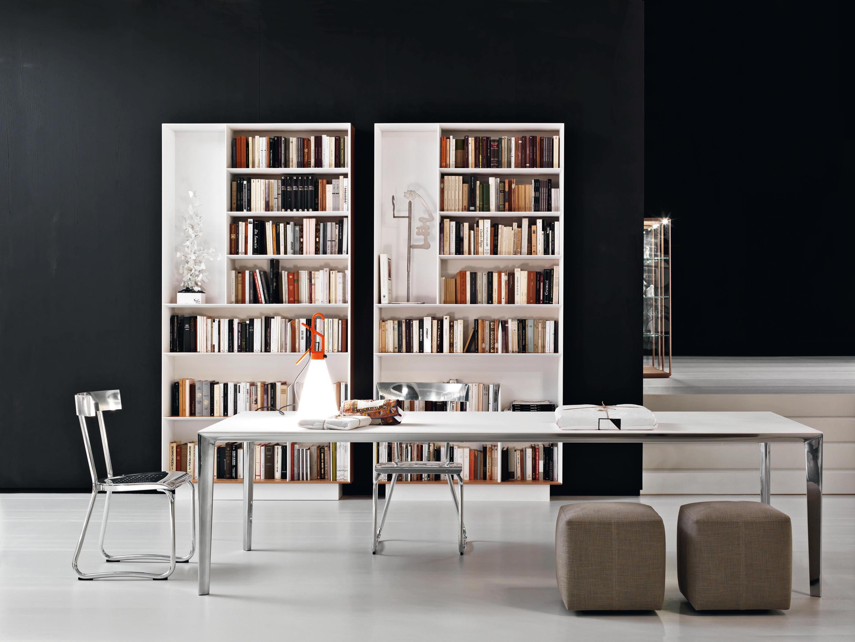 Libreria scaffali molteni c architonic for Libreria molteni