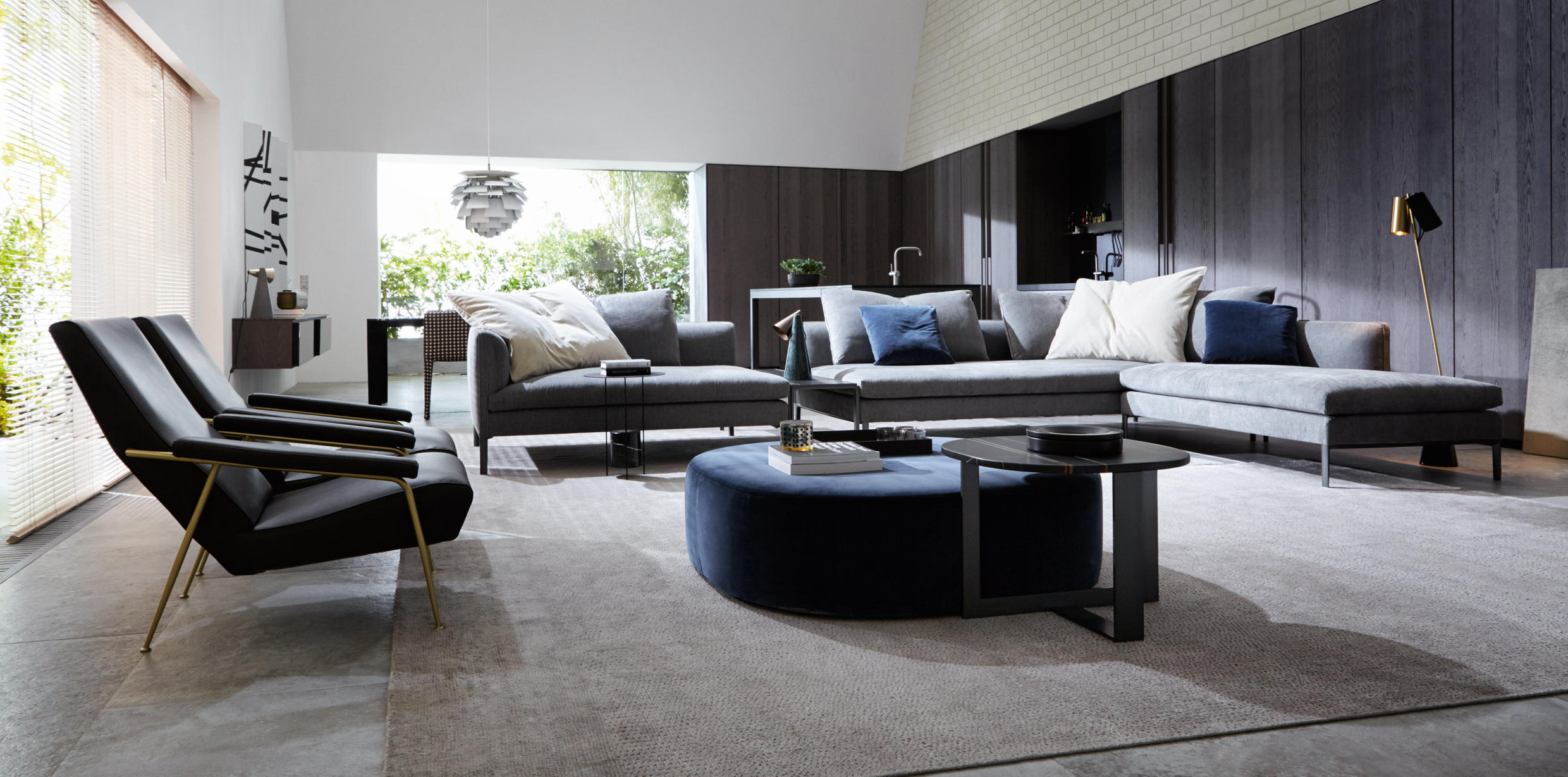 armchair lounge chairs from molteni c architonic. Black Bedroom Furniture Sets. Home Design Ideas