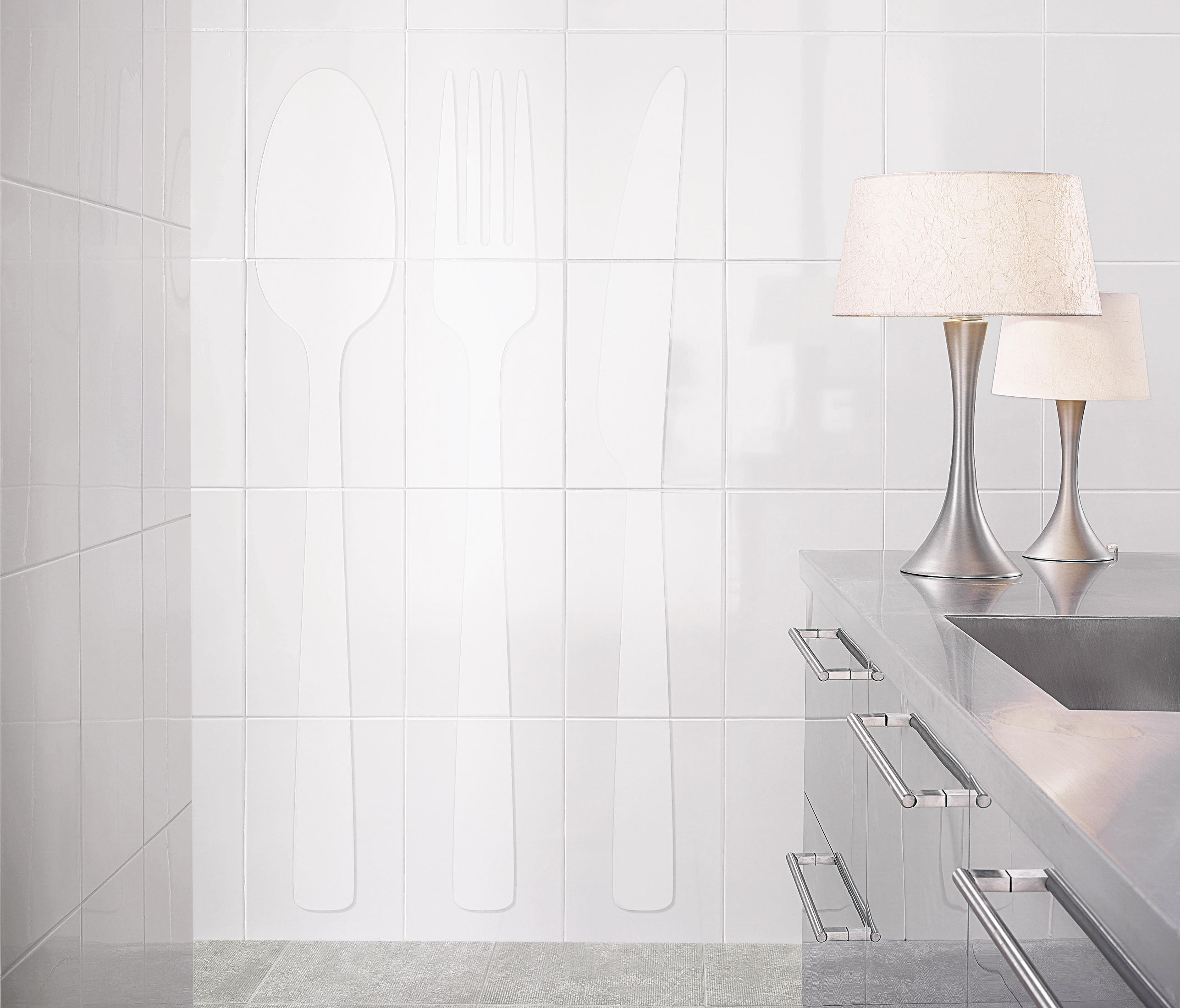 Blanco brillo ceramic tiles from vives cer mica architonic - Vives ceramica ...