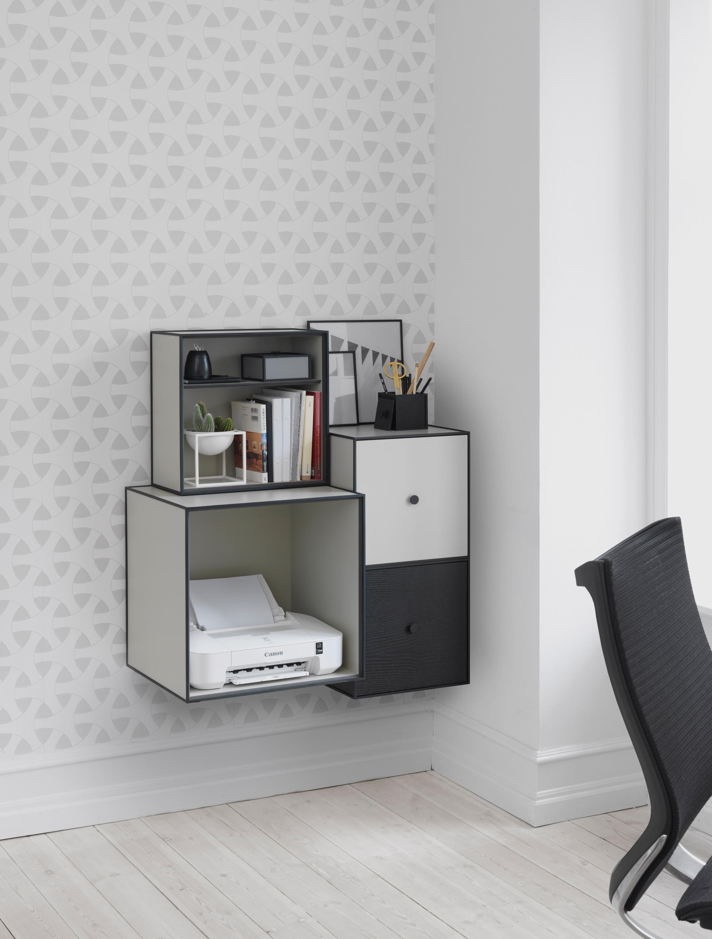 frame 10 storage boxes from by lassen architonic. Black Bedroom Furniture Sets. Home Design Ideas