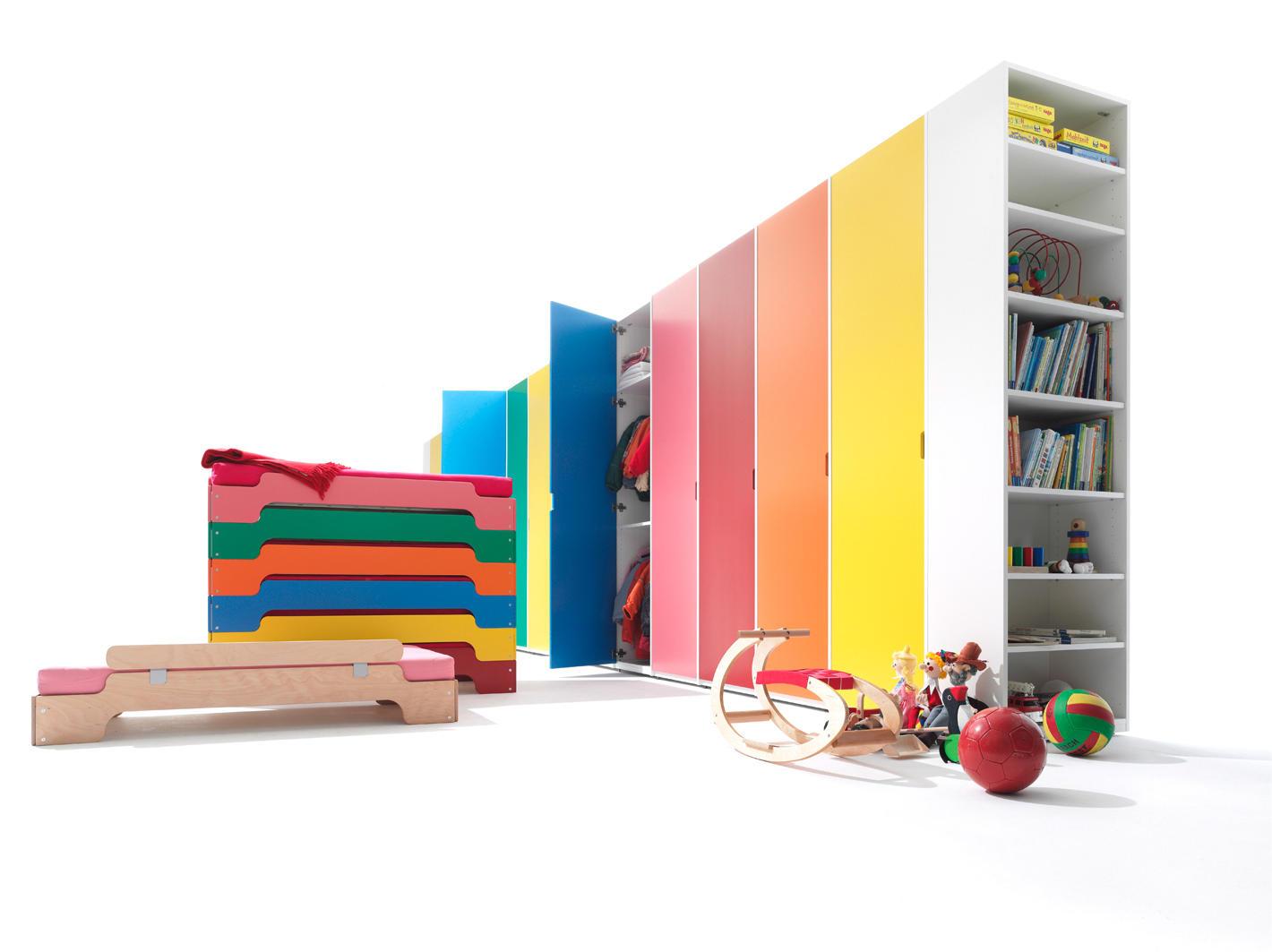Möbelwerkstätten Stacking Bed For Kids By Müller