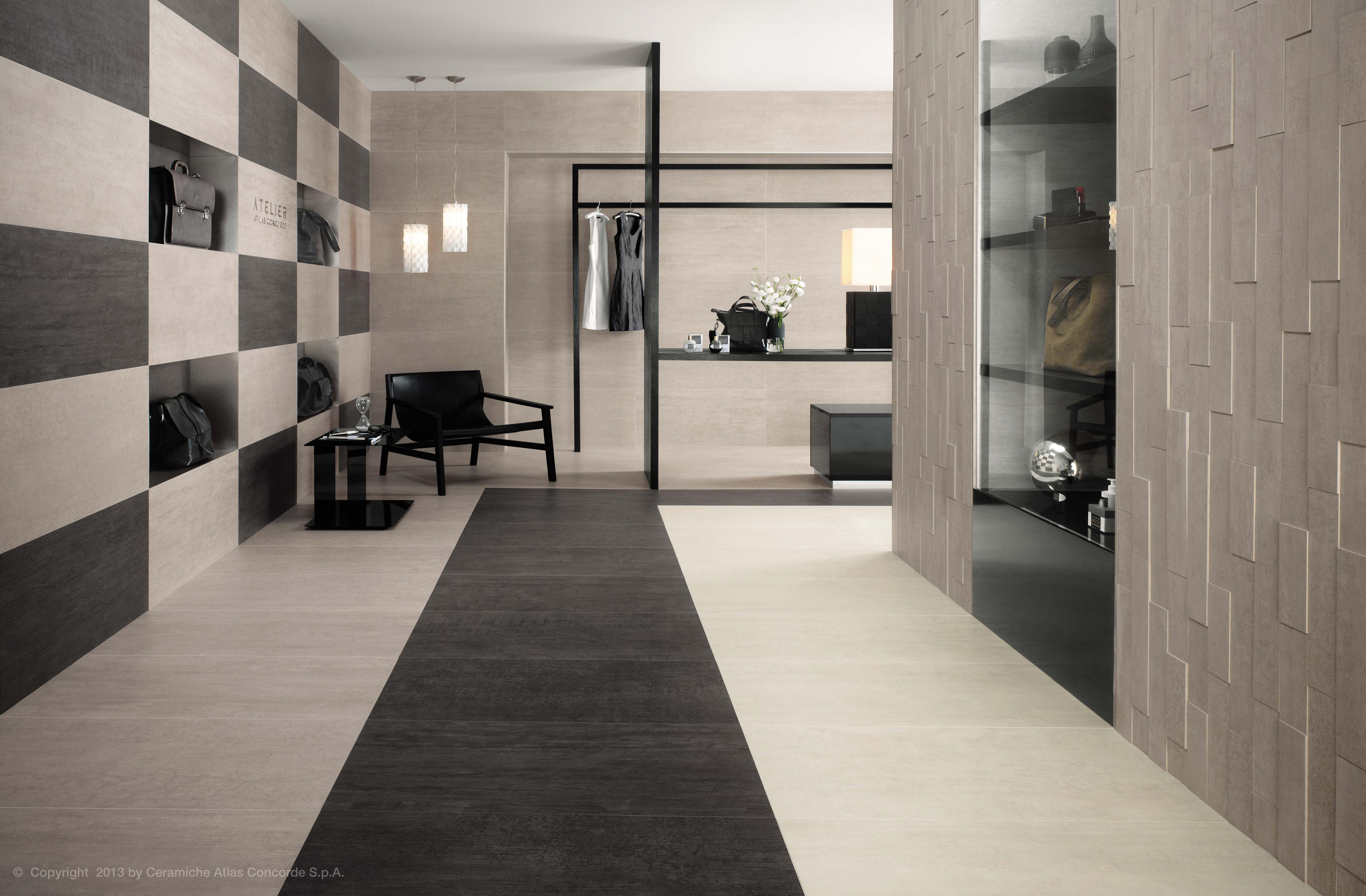 mark chrome tiles from atlas concorde architonic. Black Bedroom Furniture Sets. Home Design Ideas
