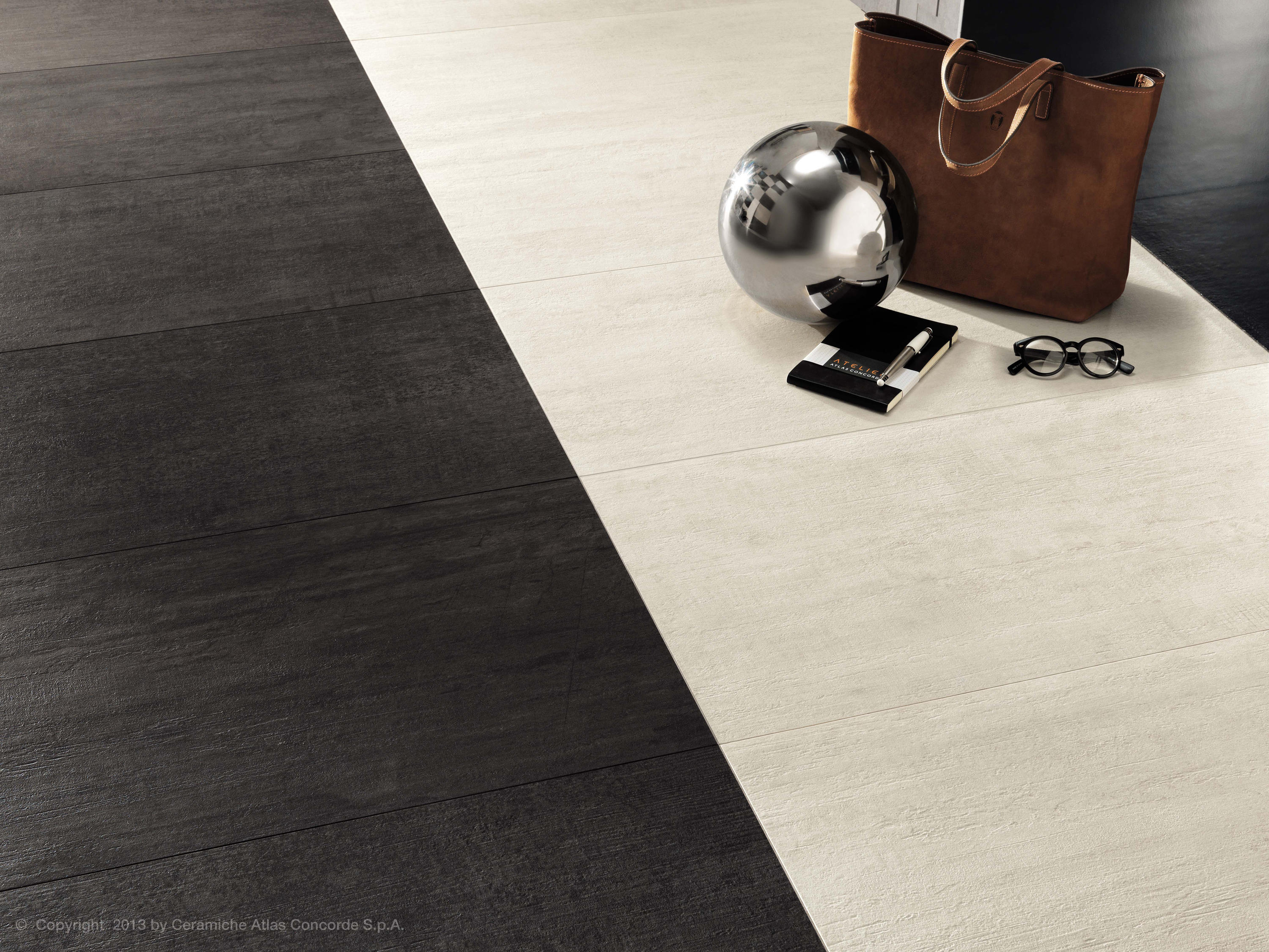 Mark chrome tiles from atlas concorde architonic for Carrelage 3mm