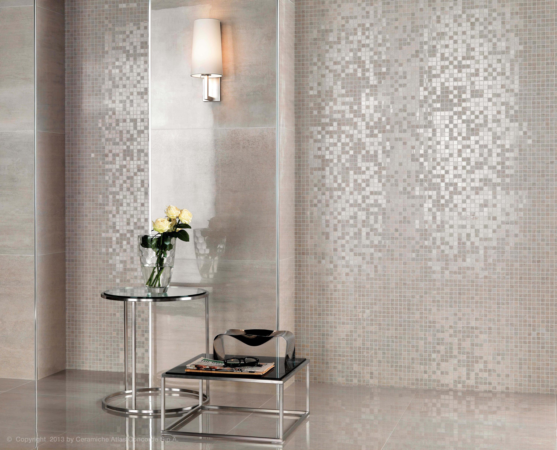 Mark Chrome Ceramic Tiles From Atlas Concorde Architonic