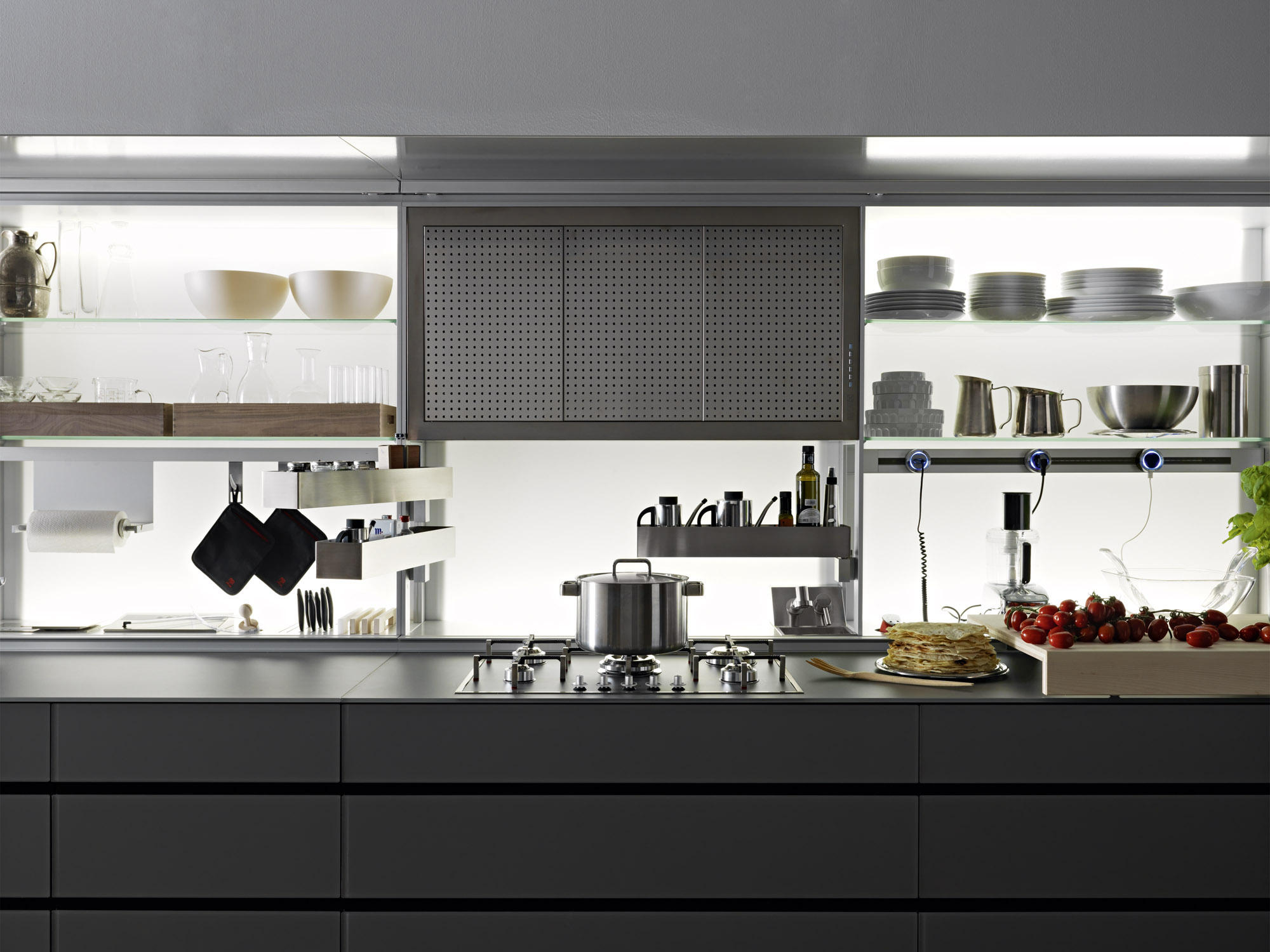 Awesome Valcucine New Logica System Gallery - Ideas & Design 2017 ...