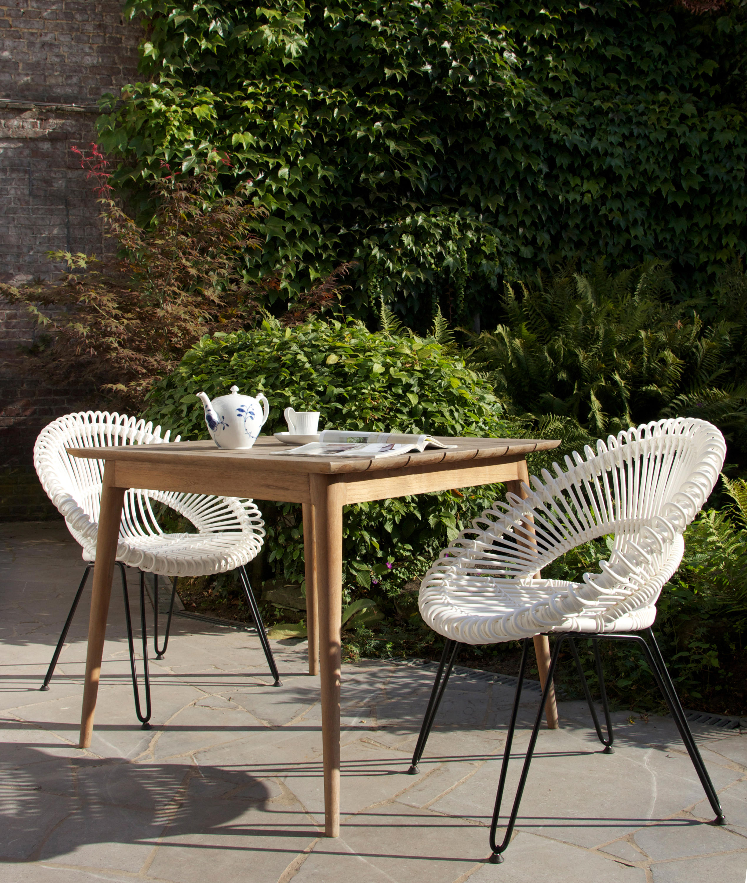 roxy dining chair garden chairs from vincent sheppard. Black Bedroom Furniture Sets. Home Design Ideas