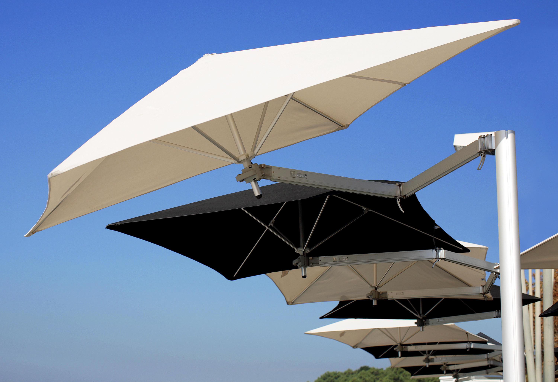 paraflex wallflex round sonnenschirme von umbrosa architonic. Black Bedroom Furniture Sets. Home Design Ideas