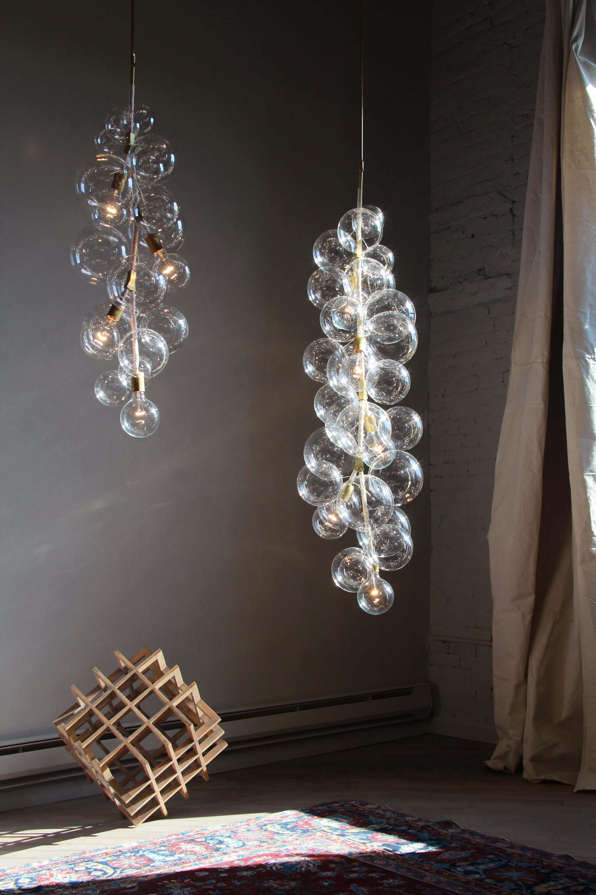 X Tall Bubble Chandelier General Lighting From Pelle
