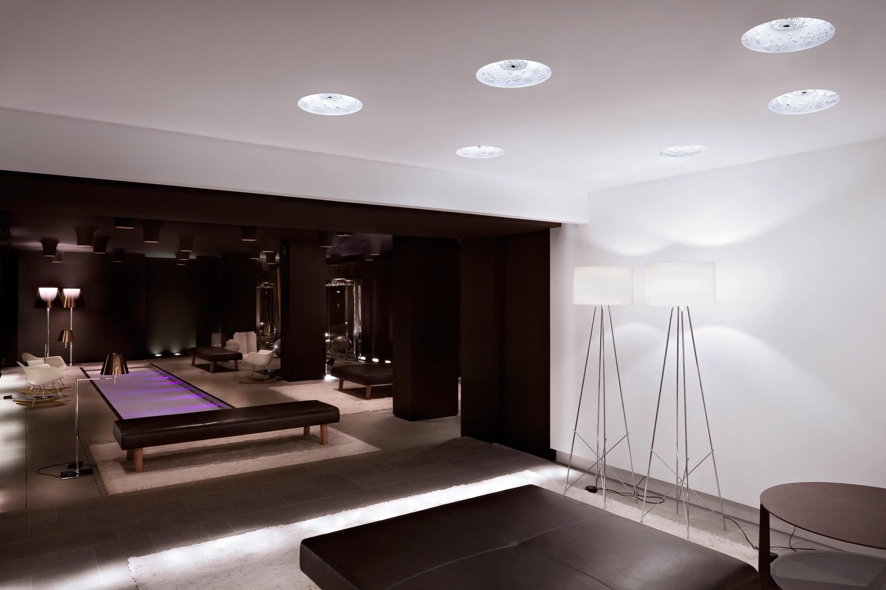 Skygarden Recessed Recessed Ceiling Lights From Flos