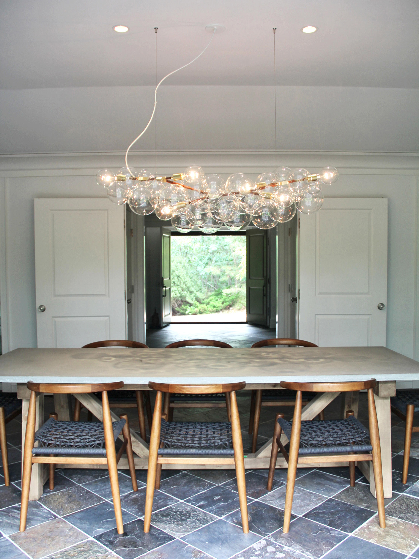 LONG BUBBLE CHANDELIER General lighting from PELLE