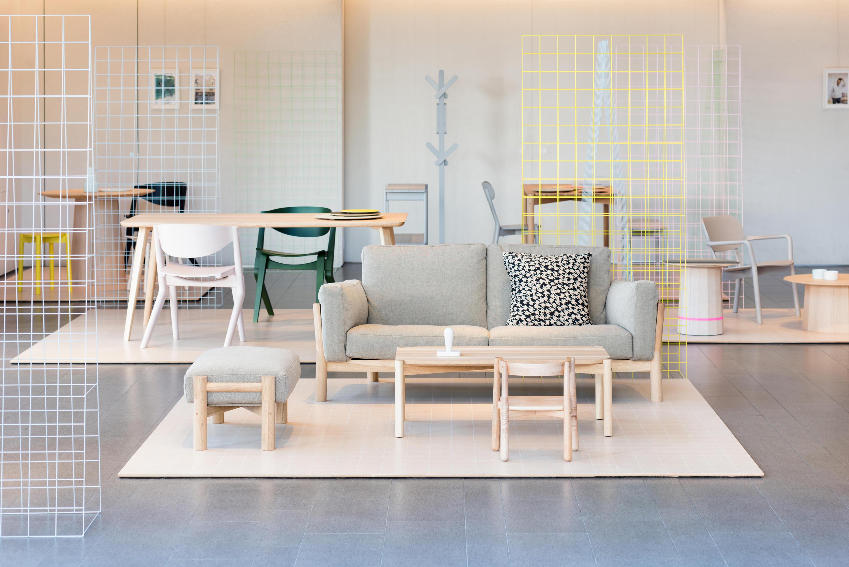 Castor Chair Pad Chairs From Karimoku New Standard