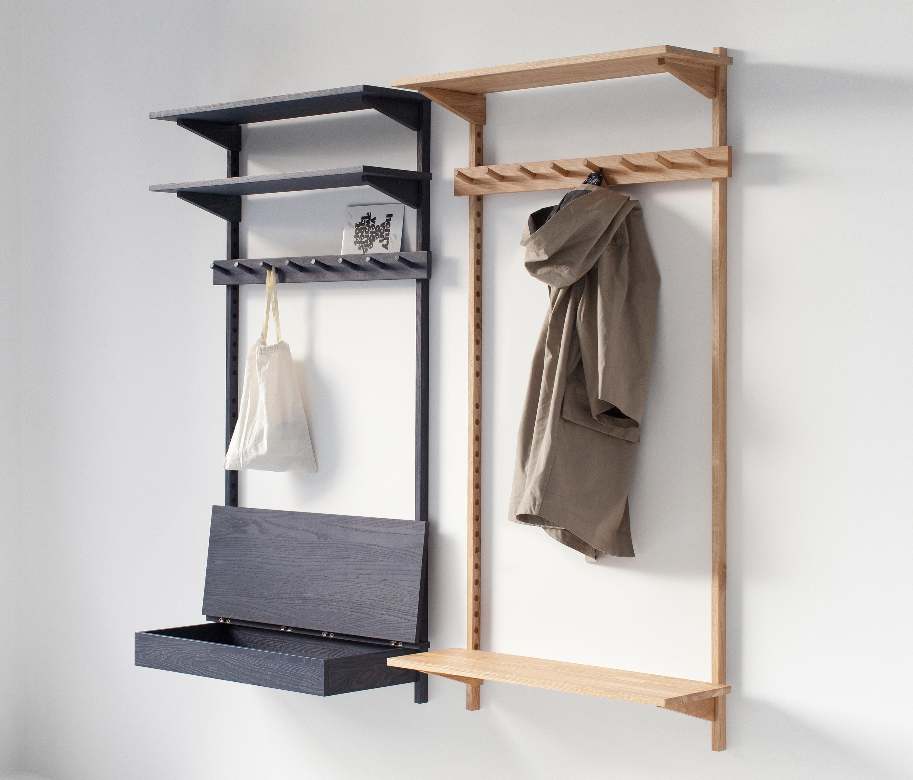 unit coat rack portemanteaux muraux de stattmann neue moebel architonic. Black Bedroom Furniture Sets. Home Design Ideas