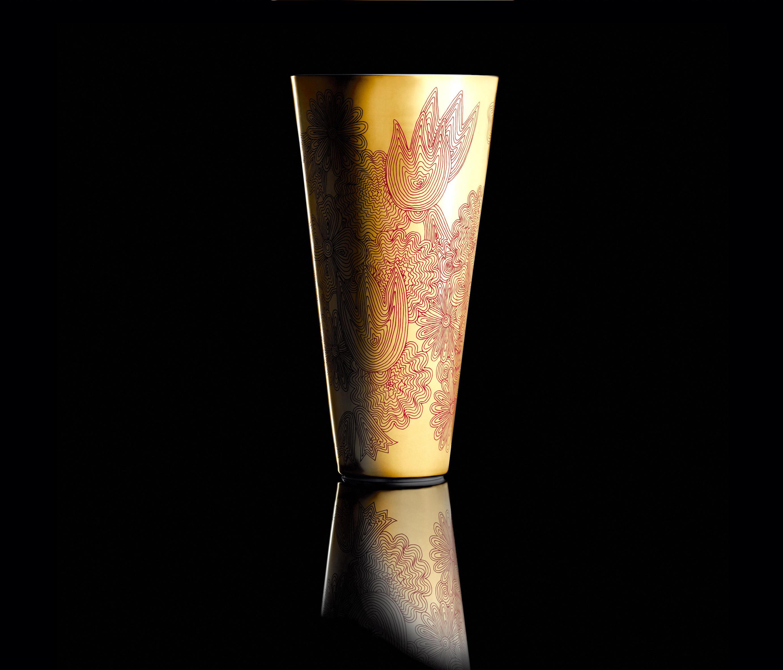 les fleurs arc en ciel vase vases from f rstenberg architonic. Black Bedroom Furniture Sets. Home Design Ideas