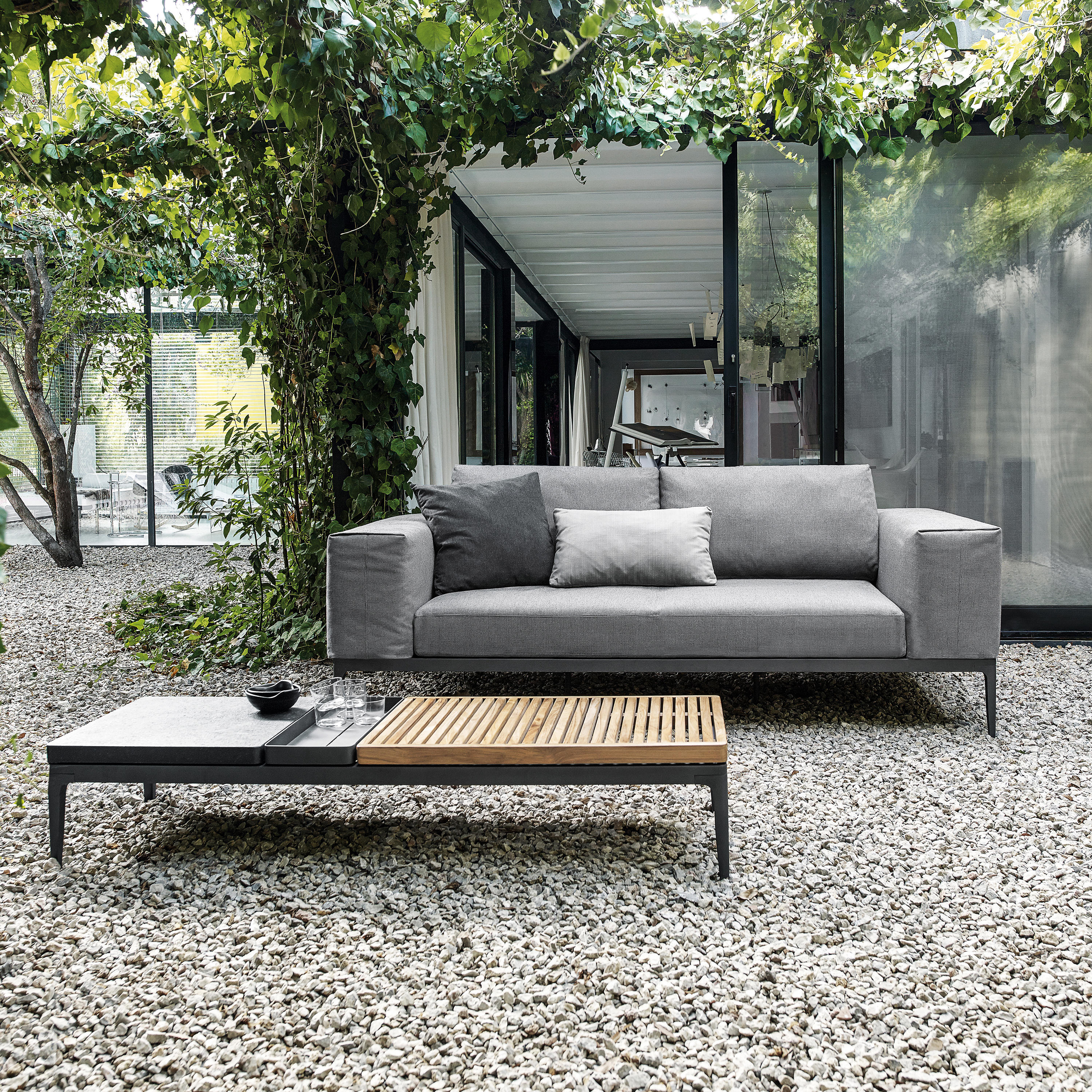 grid centre unit sofas from gloster furniture gmbh