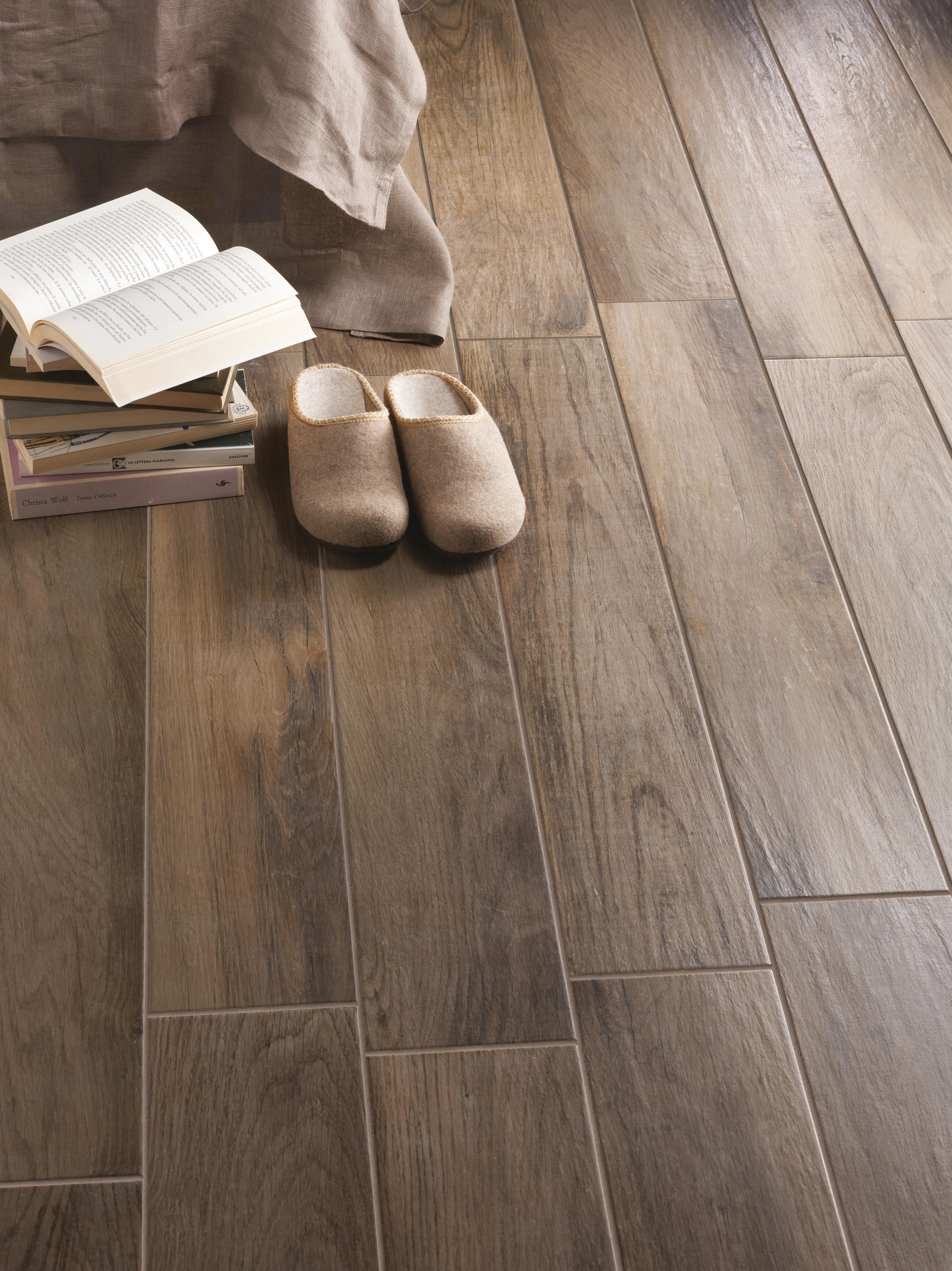 Treverkmood Mogano Ceramic Tiles From Marazzi Group