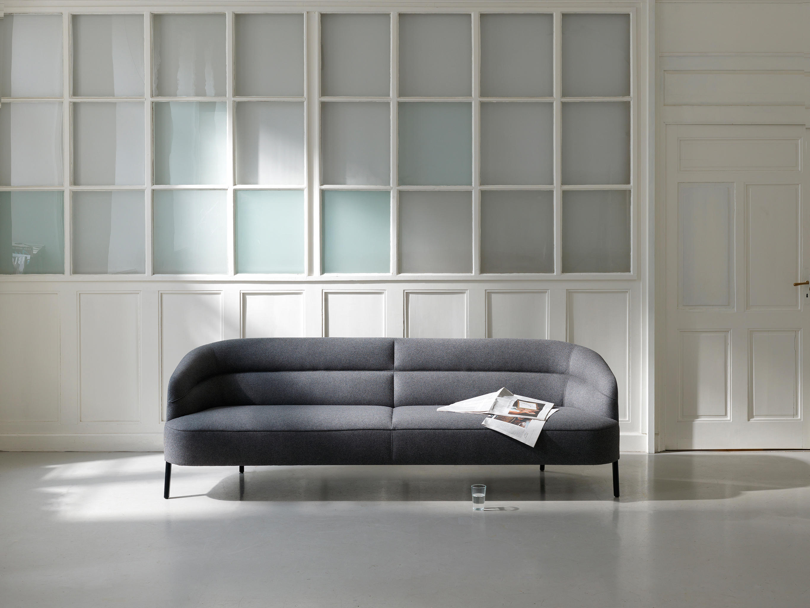 odeon sofa 190 lounge sofas from wittmann architonic. Black Bedroom Furniture Sets. Home Design Ideas