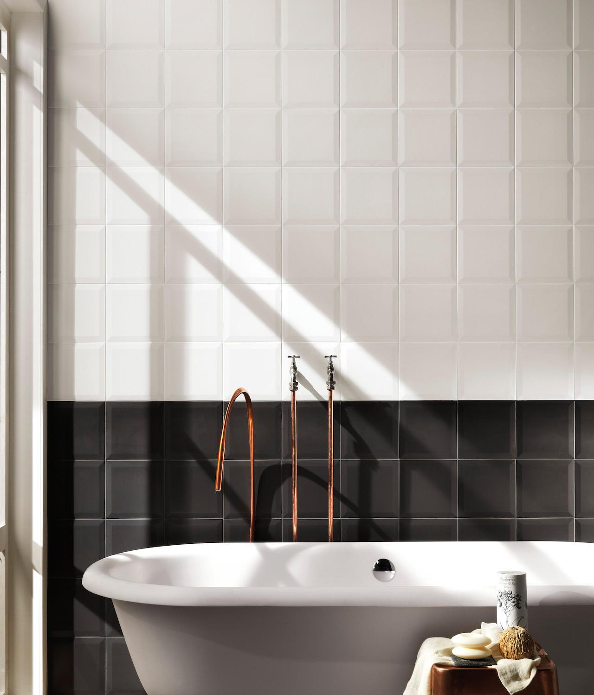 lumina frame white matt 20x20 ceramic tiles from fap. Black Bedroom Furniture Sets. Home Design Ideas