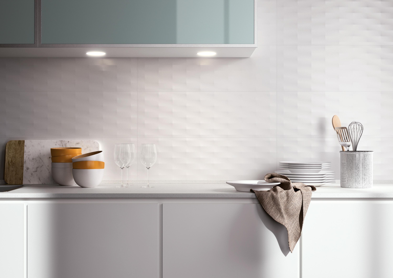 lumina curve white matt 25x75 wall tiles by fap. Black Bedroom Furniture Sets. Home Design Ideas