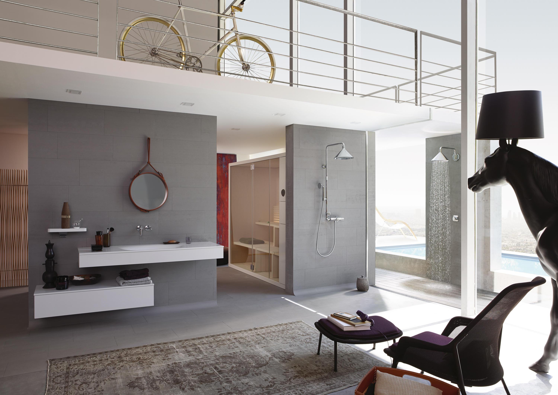 Accessoires Salle De Bain Axor ~ axor front douche de t te 240 2jet avec bras de douche