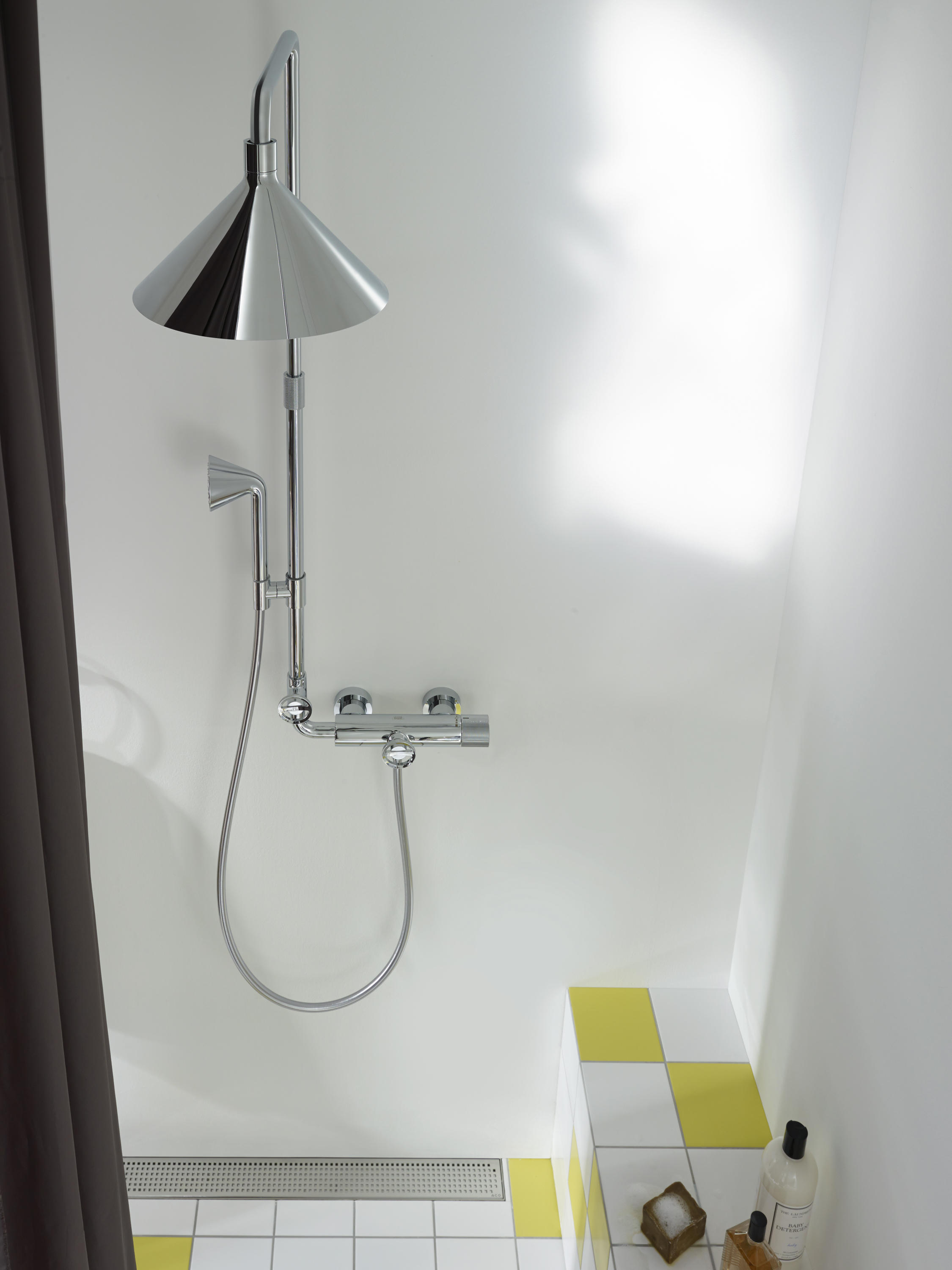 Axor 240 2jet Overhead Shower With Shower Arm Architonic
