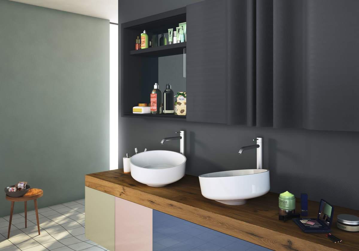 Inbilico basin lavabi lavandini lago architonic for Cap villa del conte