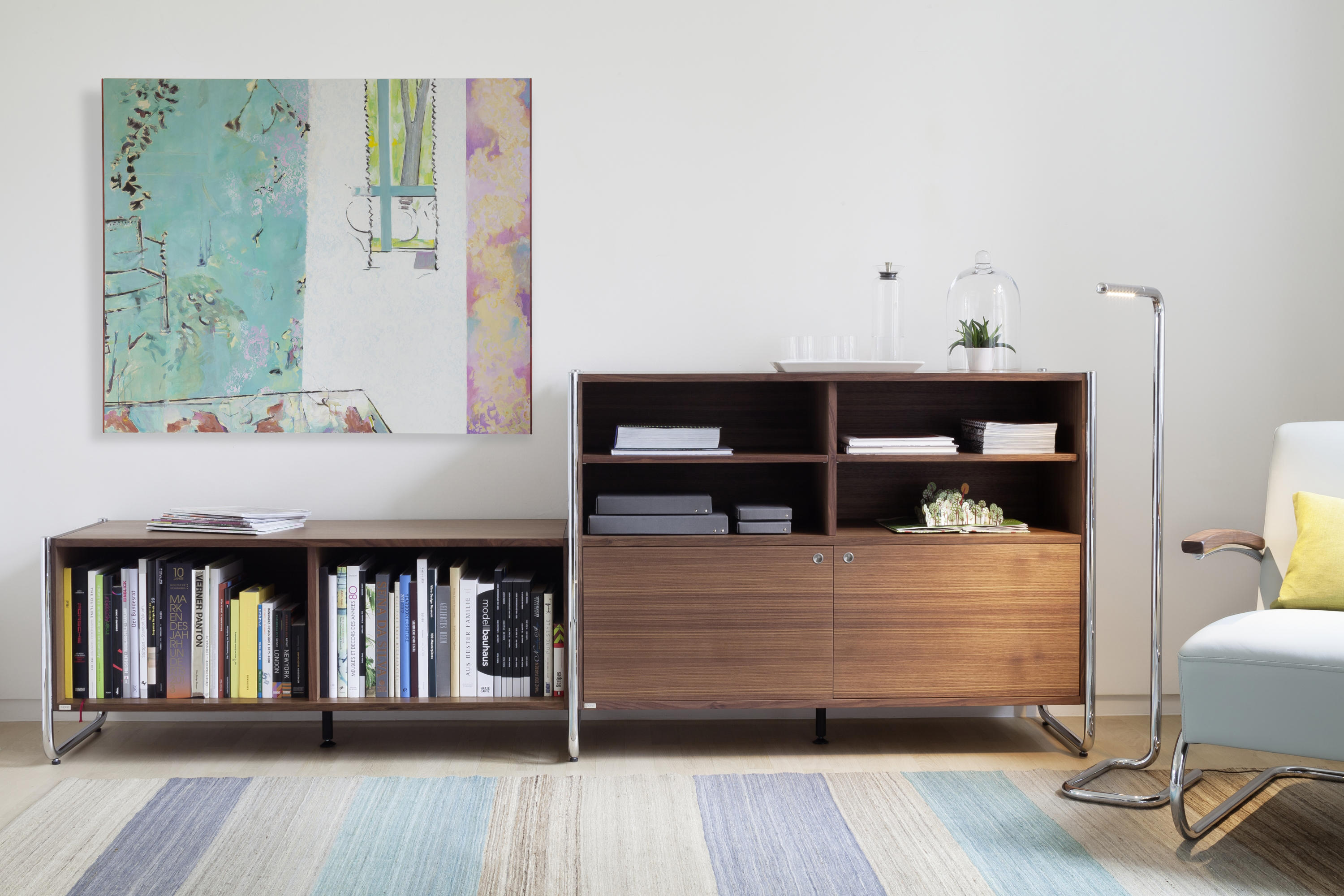 s 290 multimedia sideboards from thonet architonic. Black Bedroom Furniture Sets. Home Design Ideas