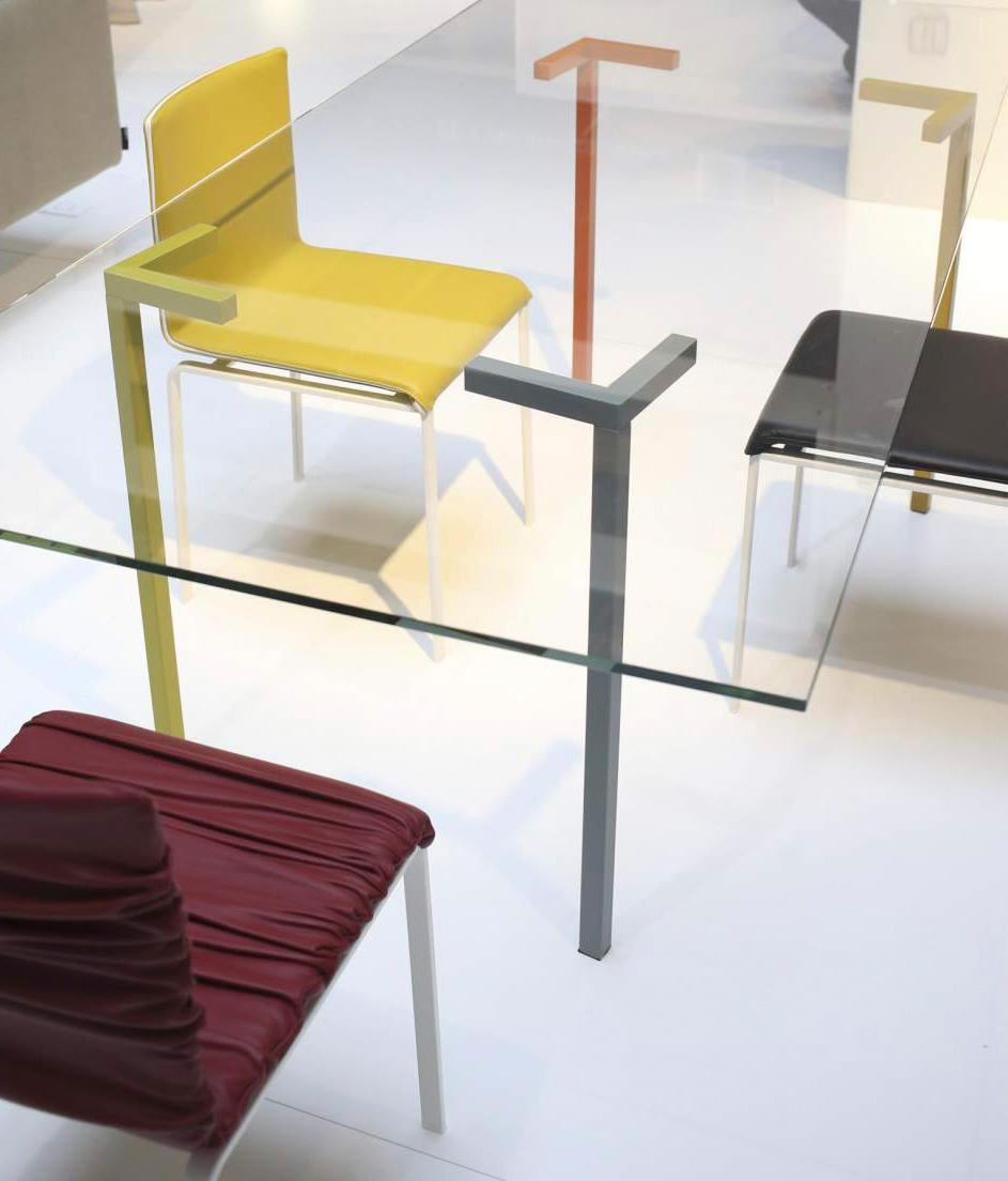 Axys table tavoli riunione lago architonic for Tavolo lago prezzo