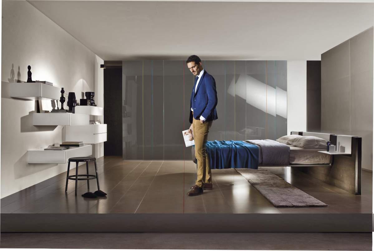 N o w line wardrobe armadi lago architonic for Cap villa del conte