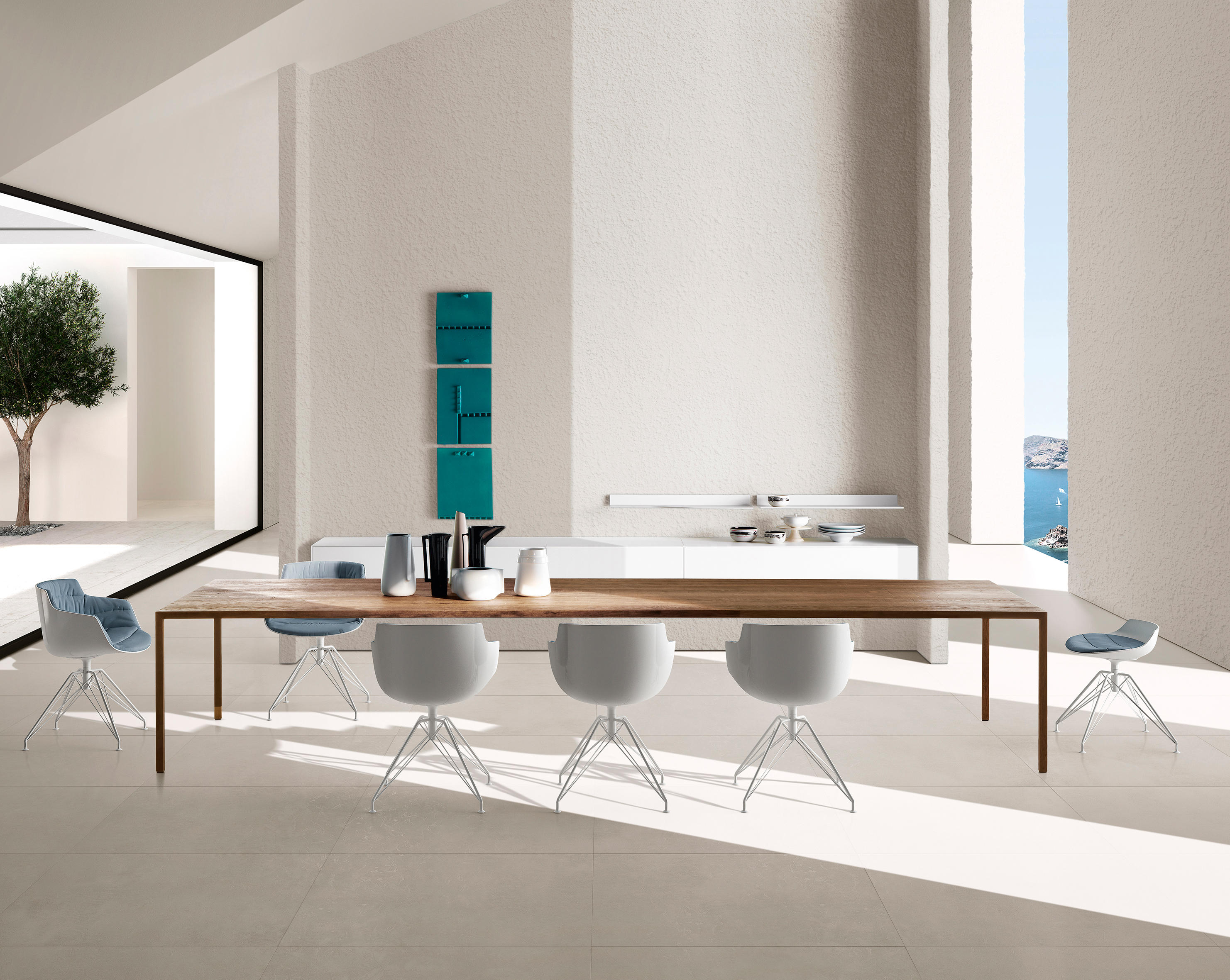 Flow Slim Chairs From Mdf Italia Architonic