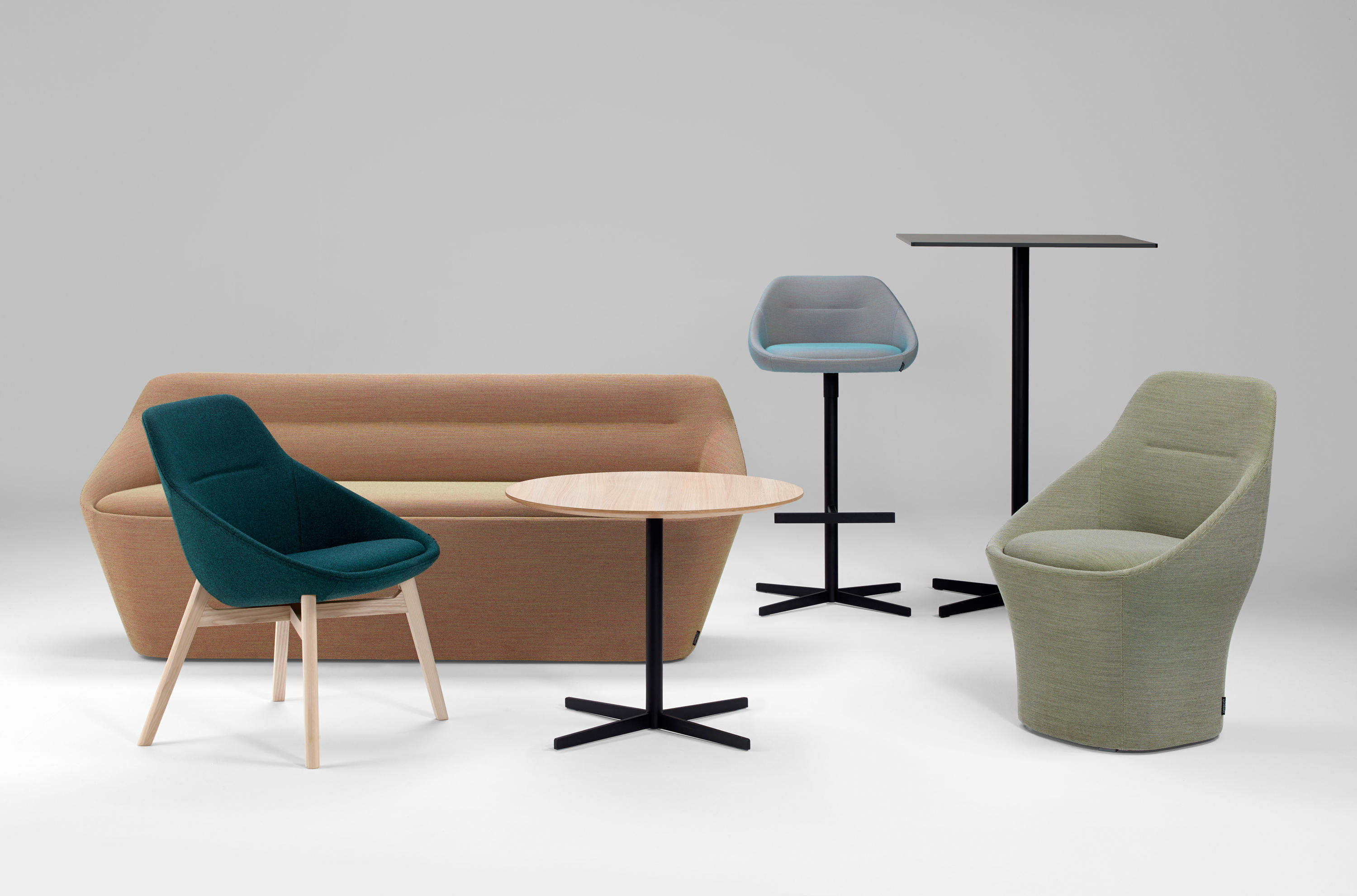 Ezy Low Chairs From Offecct Architonic