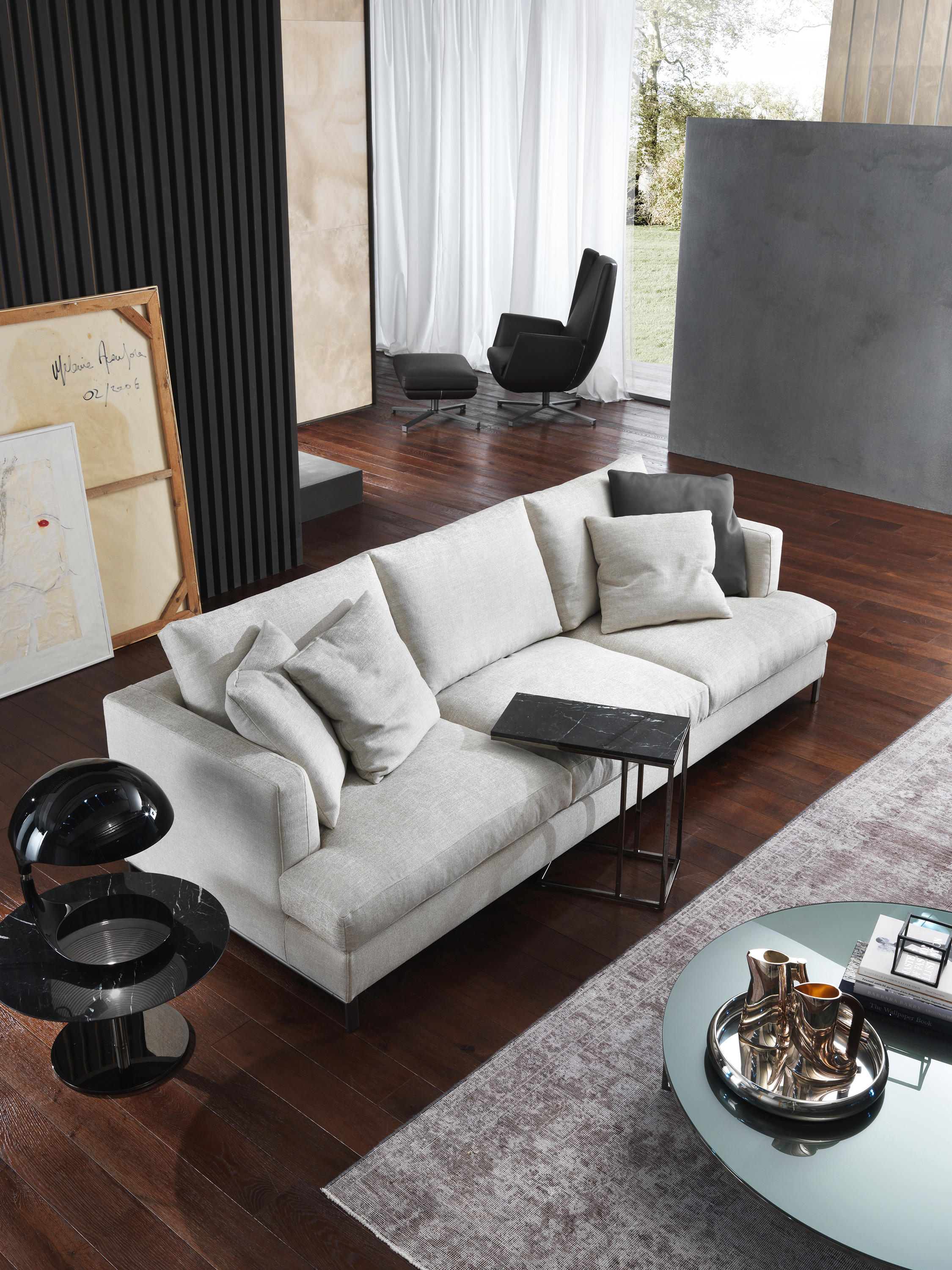 loft sofa lounge sofas from giulio marelli architonic. Black Bedroom Furniture Sets. Home Design Ideas