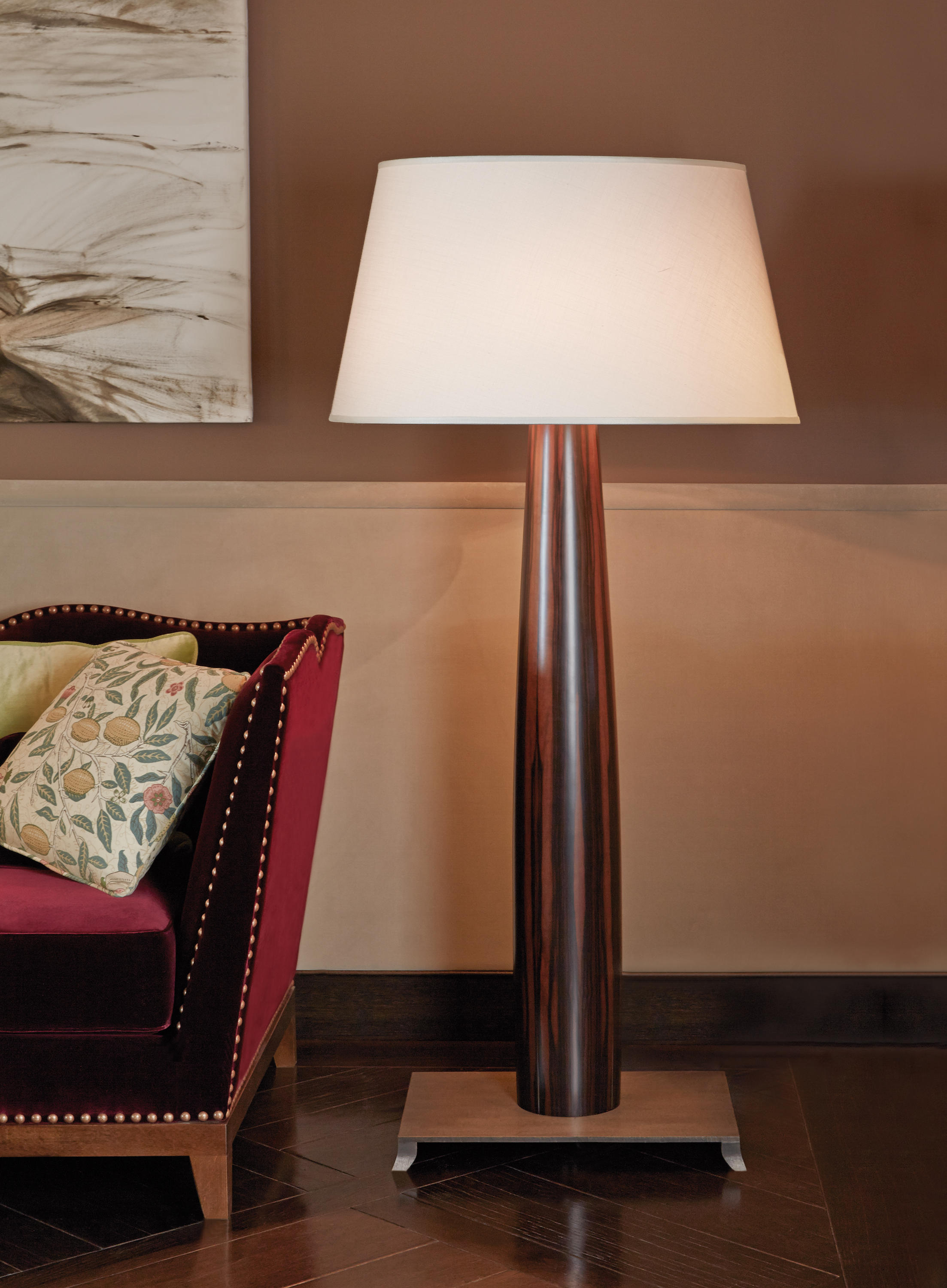 Pia Floor Lamp Free Standing Lights From Promemoria