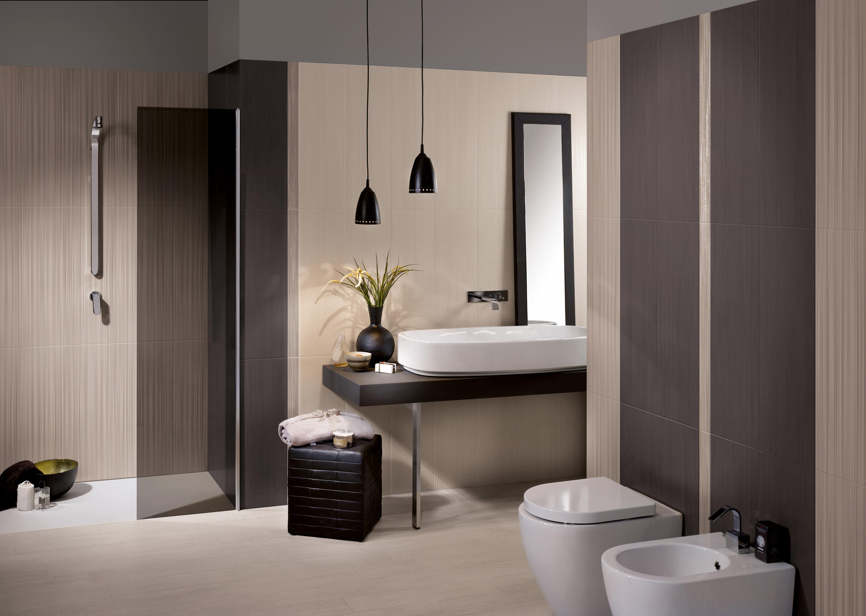 Dress up graphite piastrelle ceramica ceramiche supergres