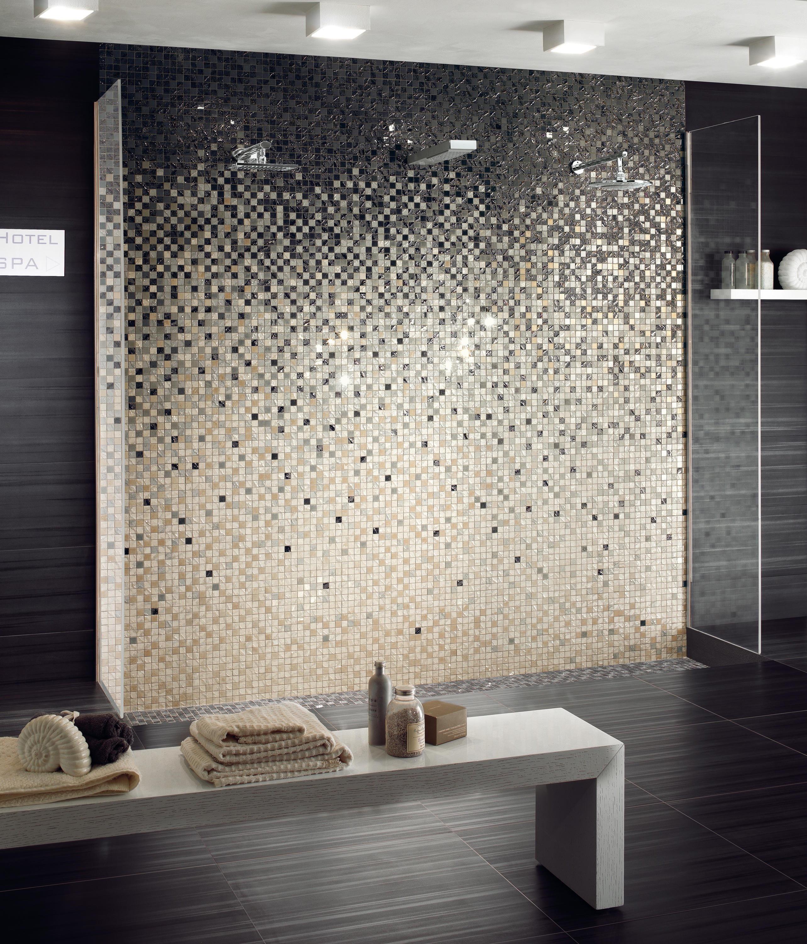 FOUR SEASONS SPRING SATIN - Ceramic mosaics from Ceramiche Supergres ...