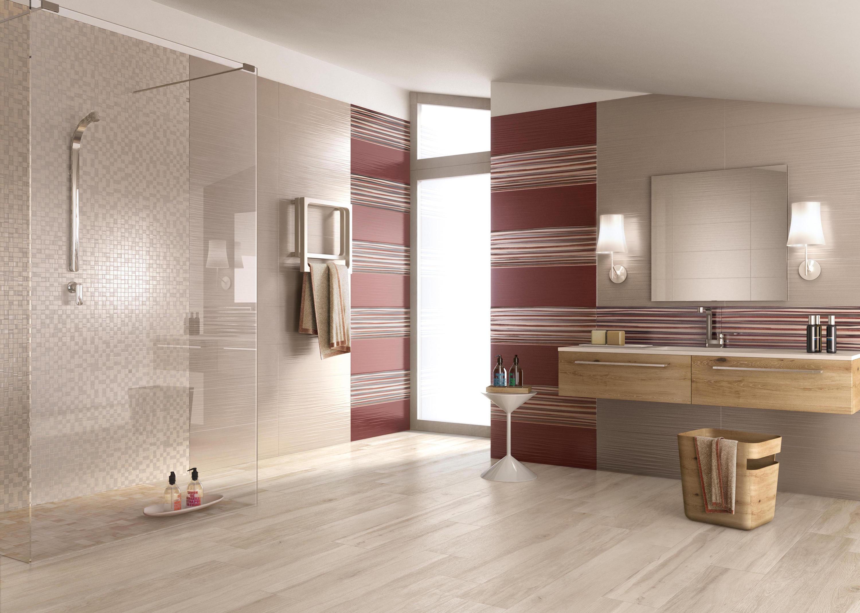 Lace white ceramic tiles from ceramiche supergres architonic - Bagno pavimento legno ...