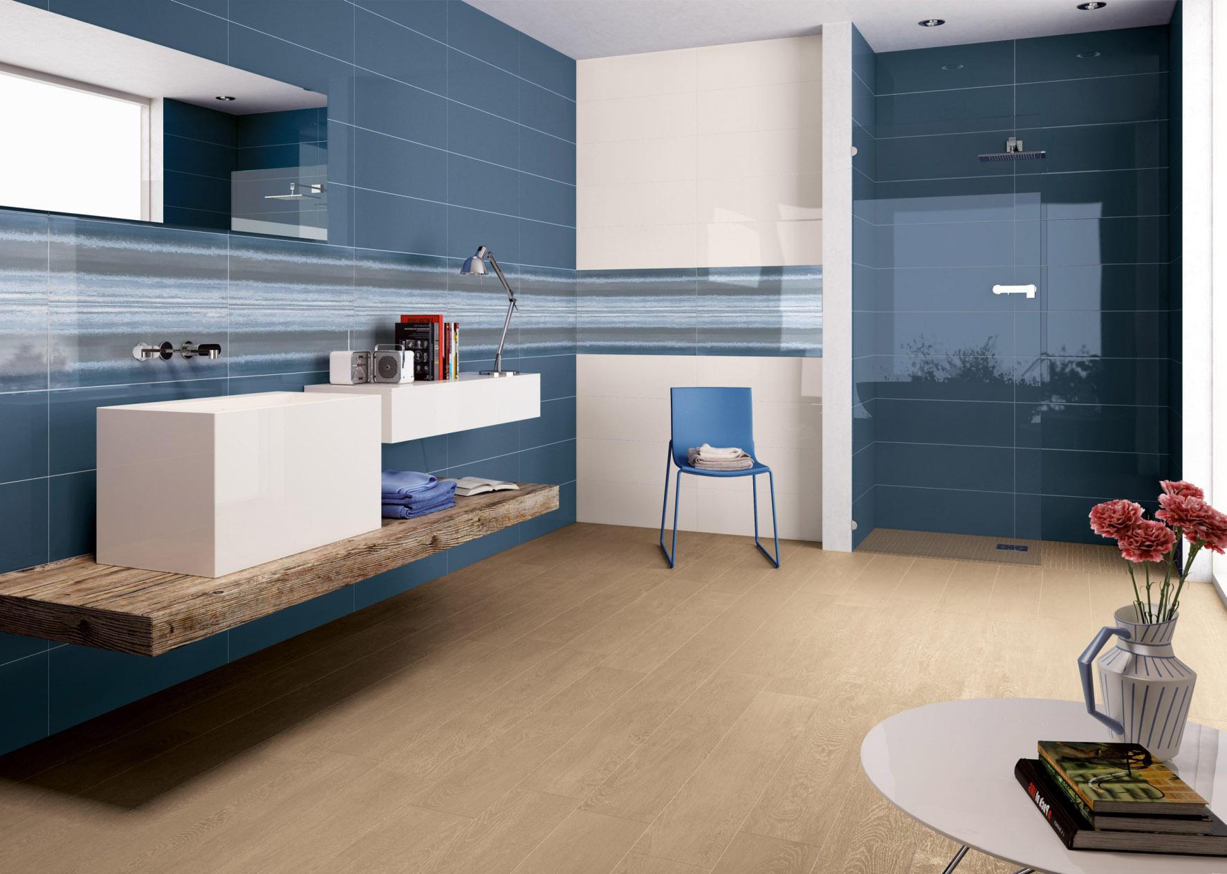 Bagno Beige E Marrone : Piastrelle bagno marrone trendy bagni moderni beige con