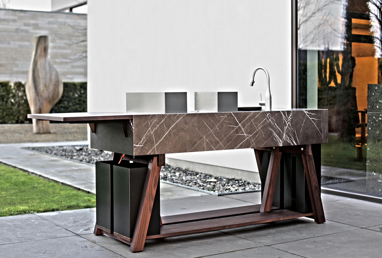 Outdoorküche Möbel Classic : Bbqube classic steel außenküchen von ocq architonic