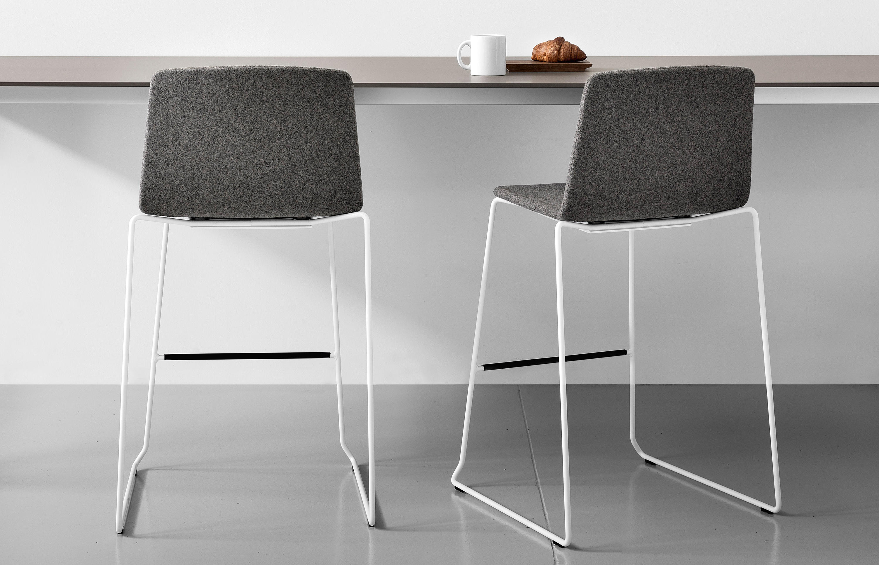 Rama wood base restaurant chairs from kristalia architonic for Table extensible kristalia