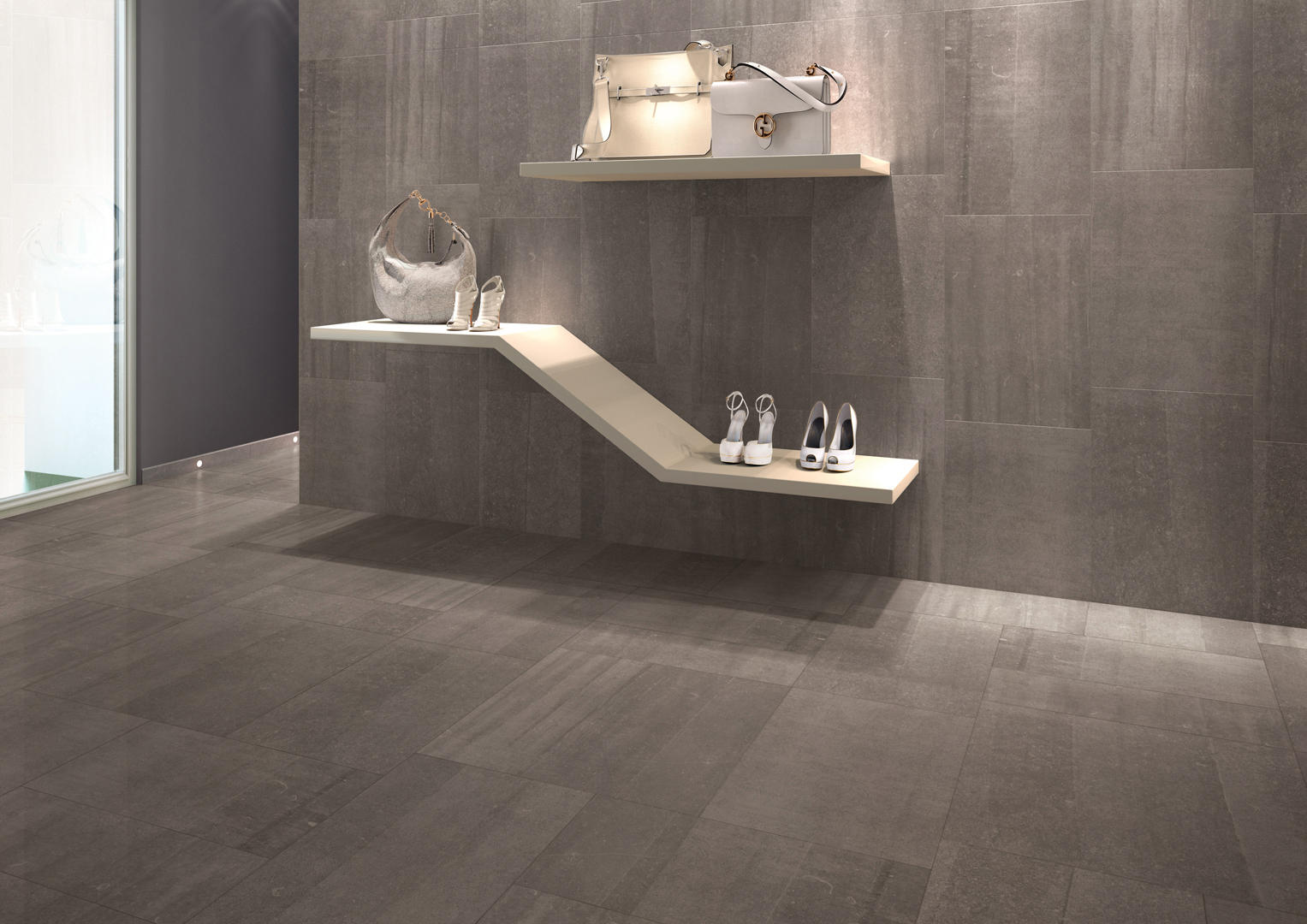 Back anthracite piastrelle ceramica keope architonic